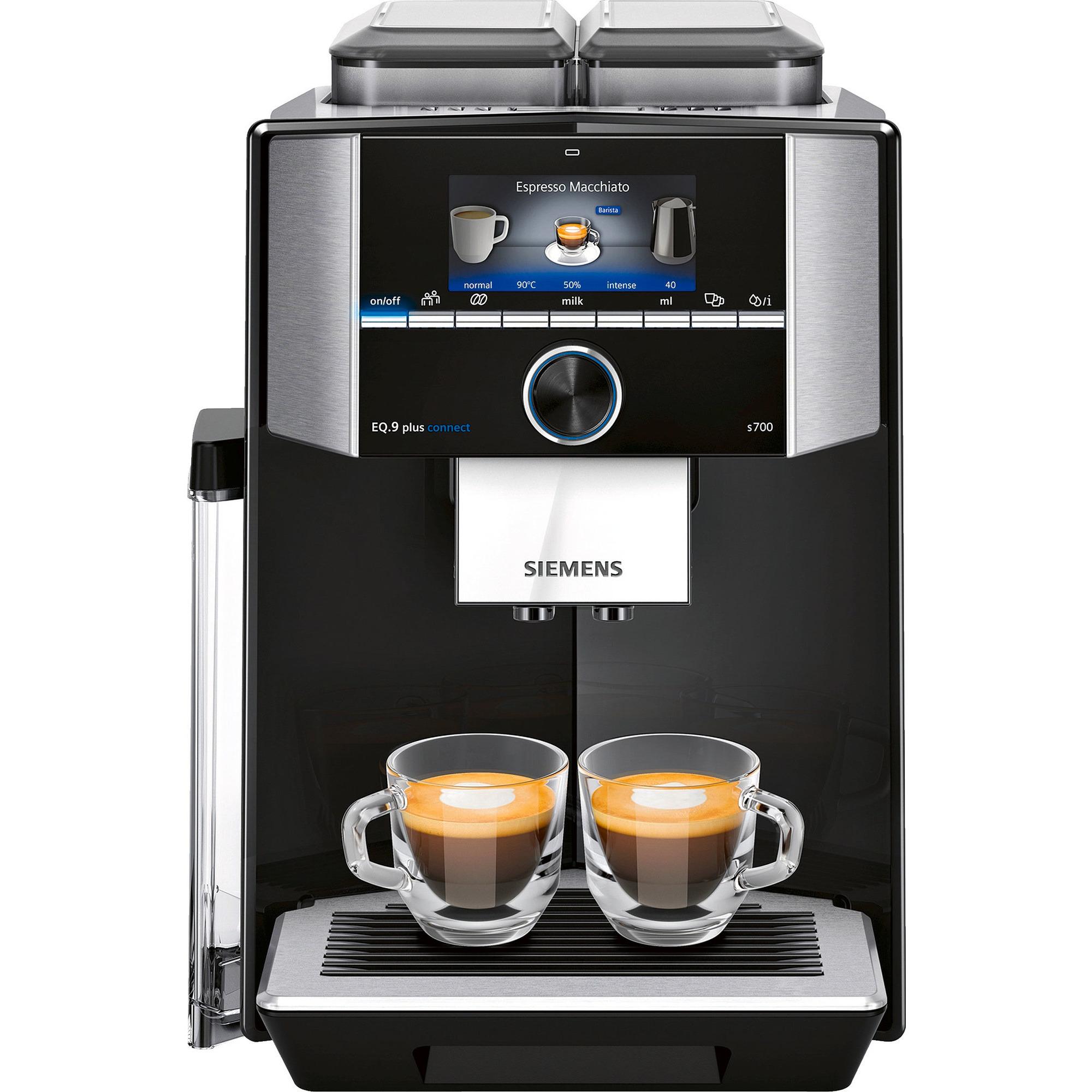 Siemens EQ.9 plus connect s700 Helautomatisk espressomaskin