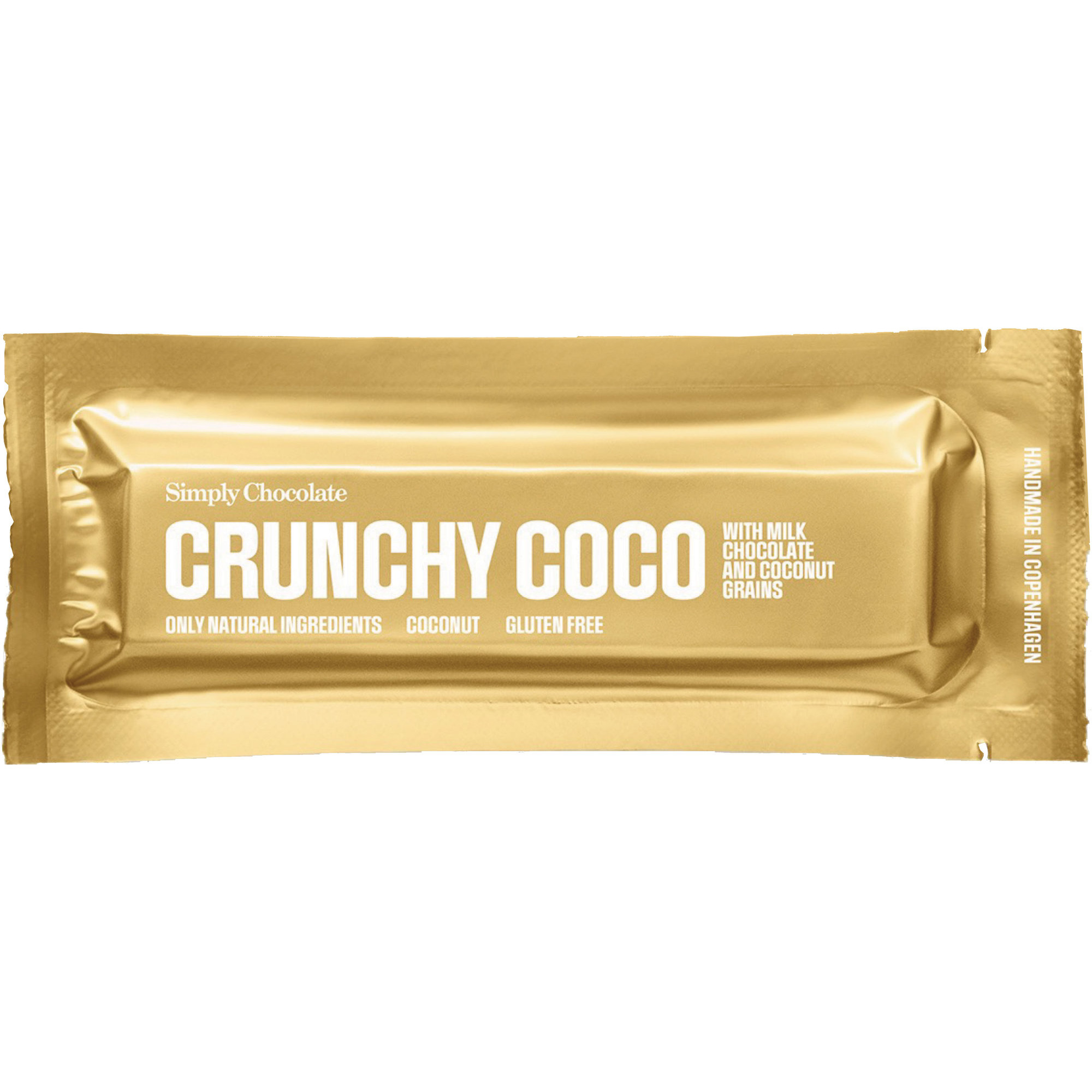 Simply Chocolate Crunchy Coco bar
