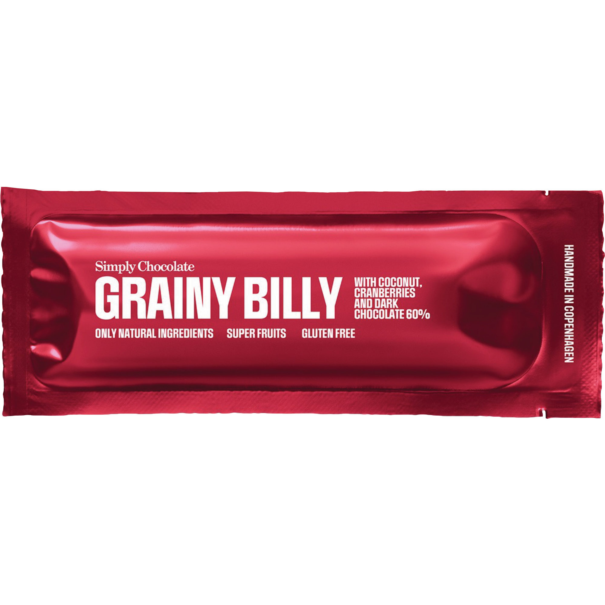 Simply Chocolate Grainy Billy bar