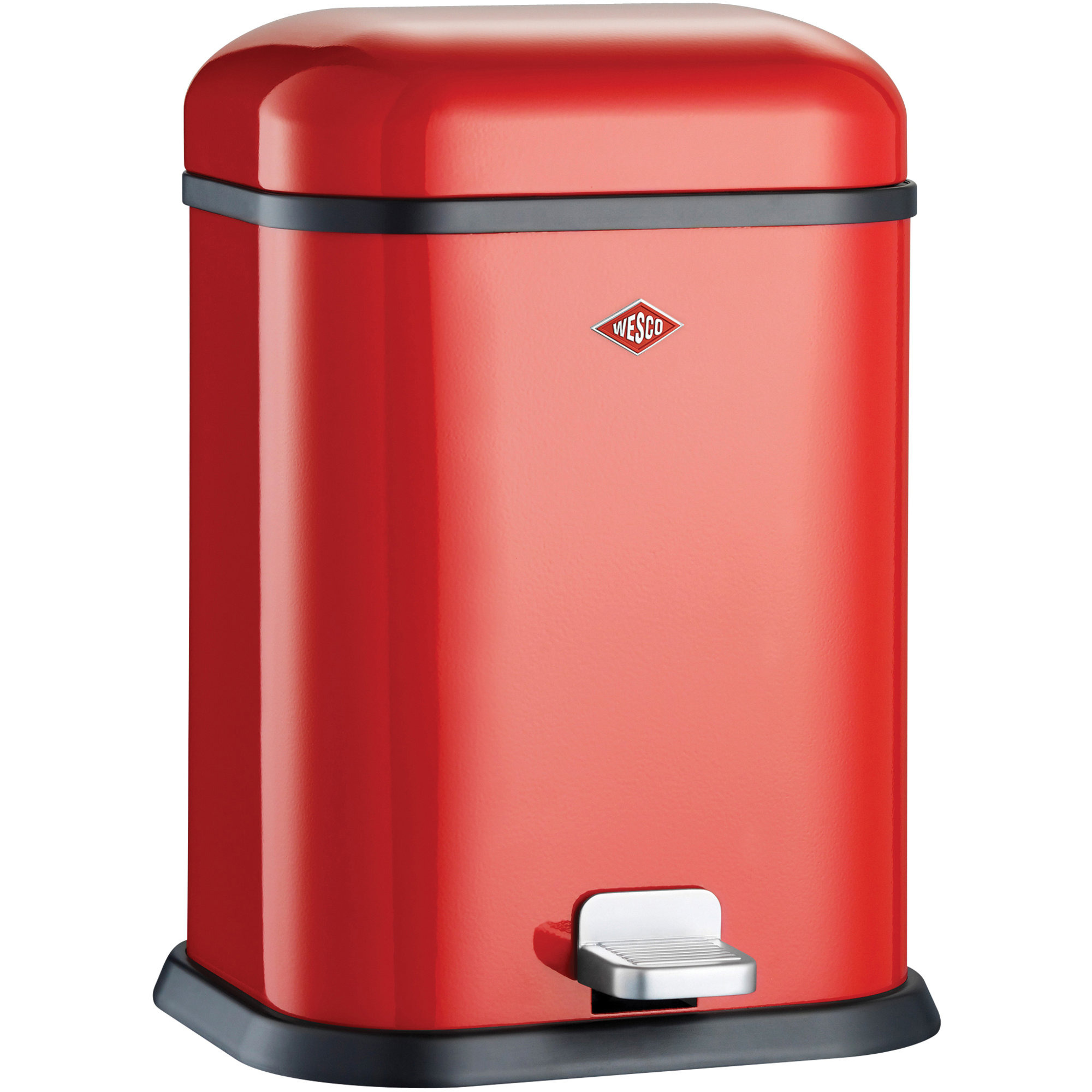 Wesco Single Boy pedalhink 13 liter – röd