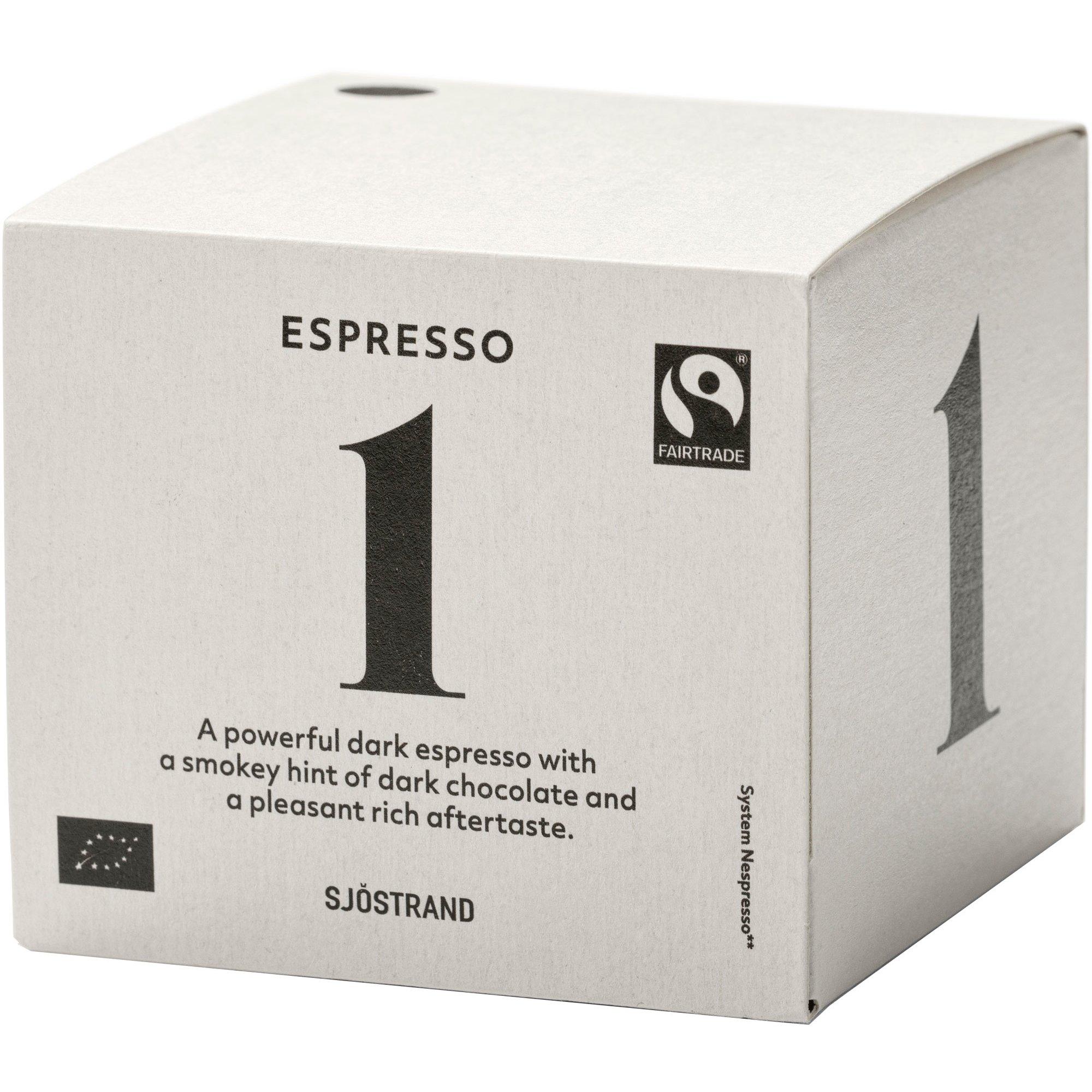 Sjöstrand Sjöstrand N°1 Espresso Kapslar, 10-pack