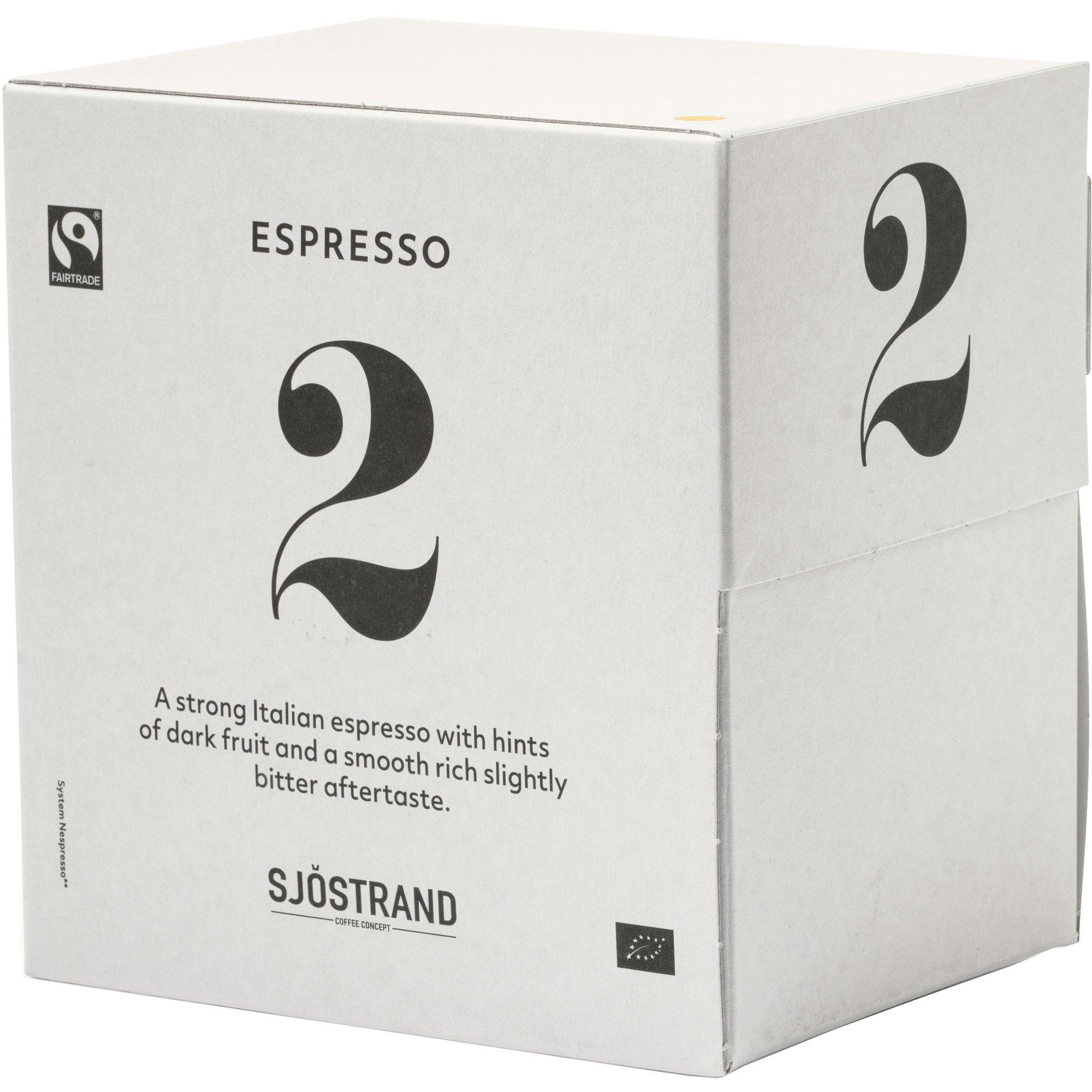 Sjöstrand Sjöstrand N°2 Espress Kapslar 100-pack