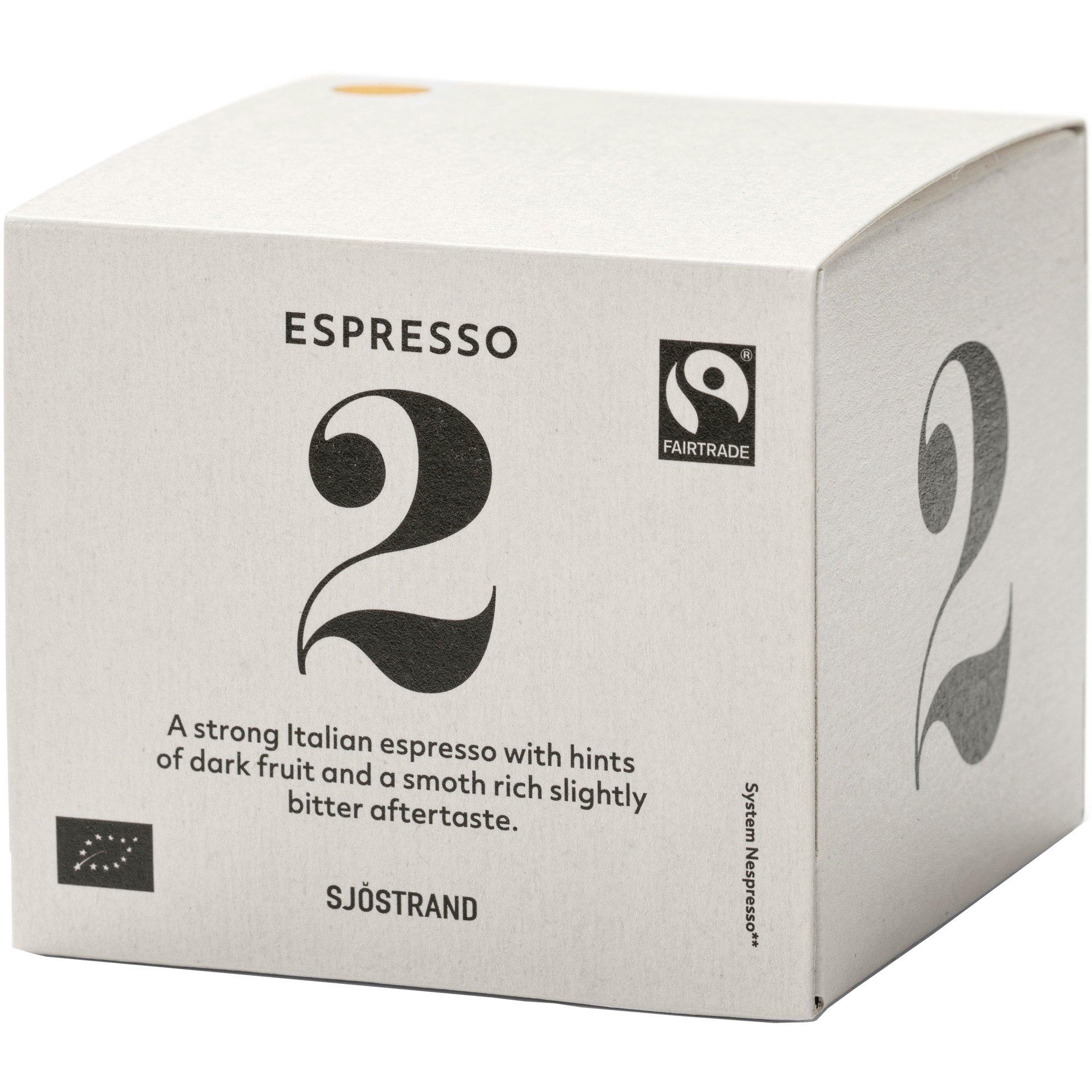 Sjöstrand Sjöstrand N°2 Espresso Kapslar 10-pack