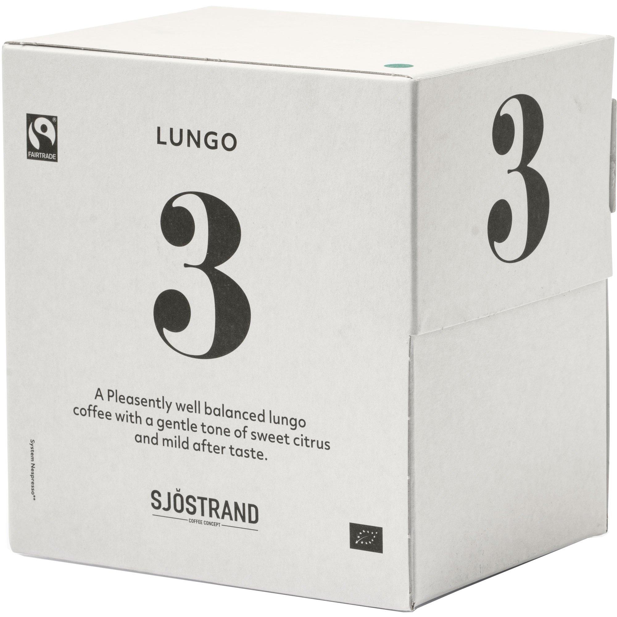 Sjöstrand Sjöstrand N°3 Lungo Kapslar 100-pack