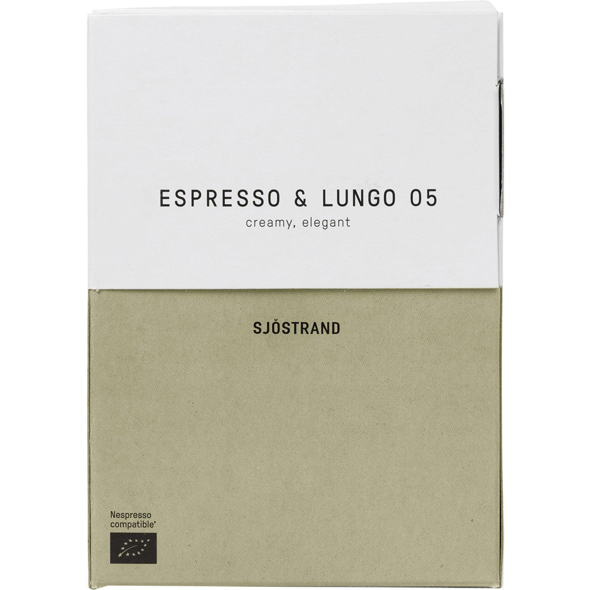 Sjöstrand N°5 Espresso & Lungo kaffekapslar 100 st