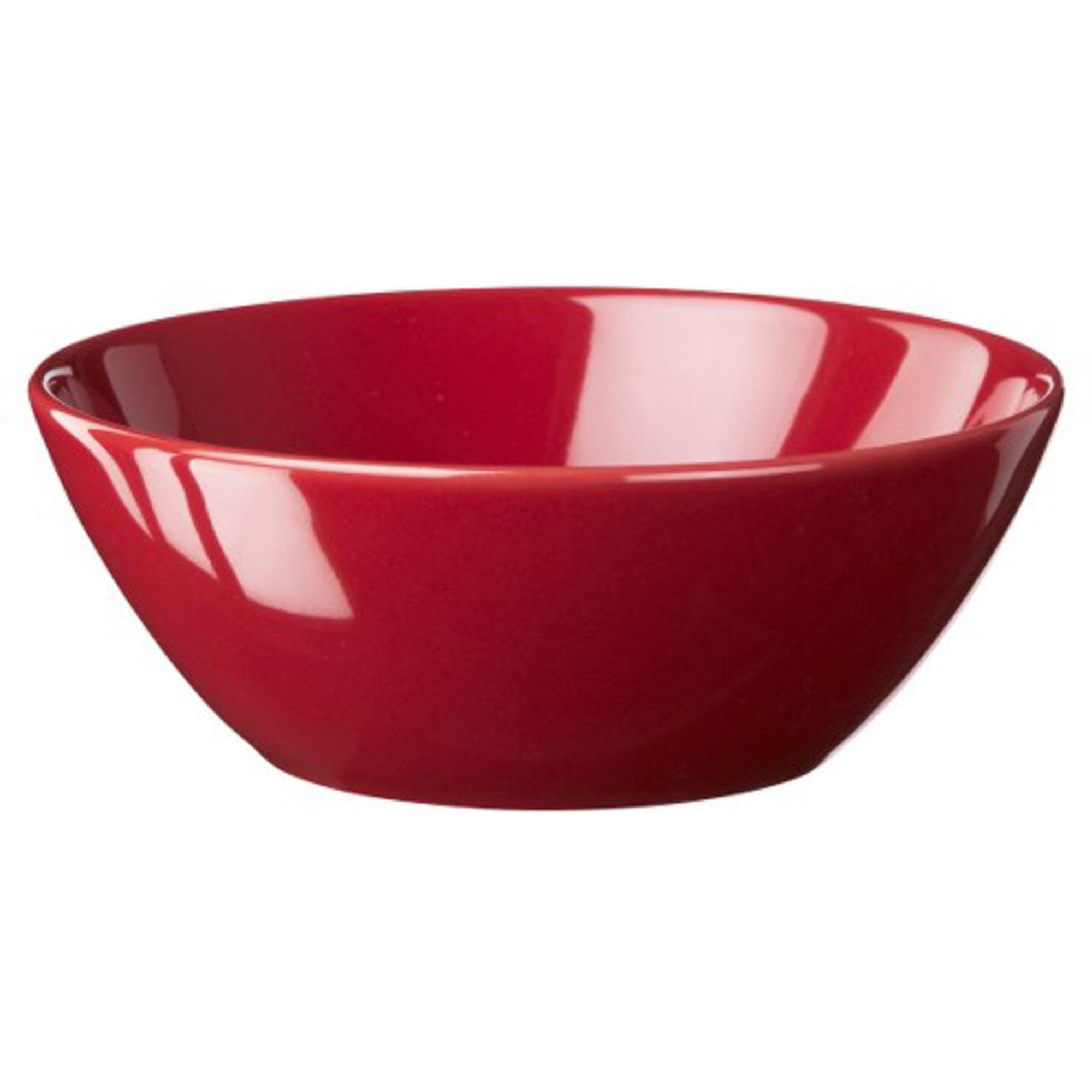Höganäs Keramik Skål 50 cl Äppelröd blank