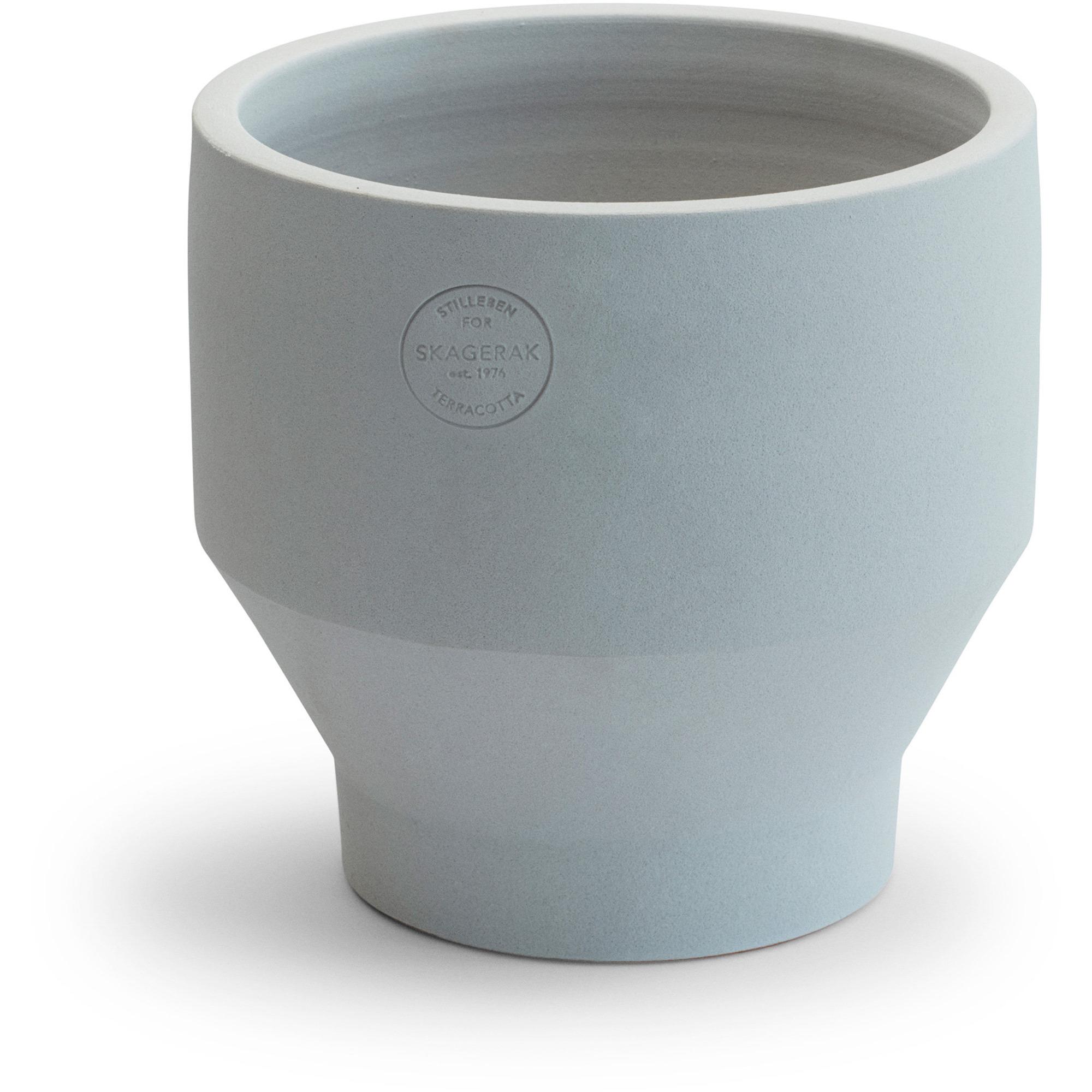 Skagerak Edge Kruka Ø18×18 Light Grey (Indoor)