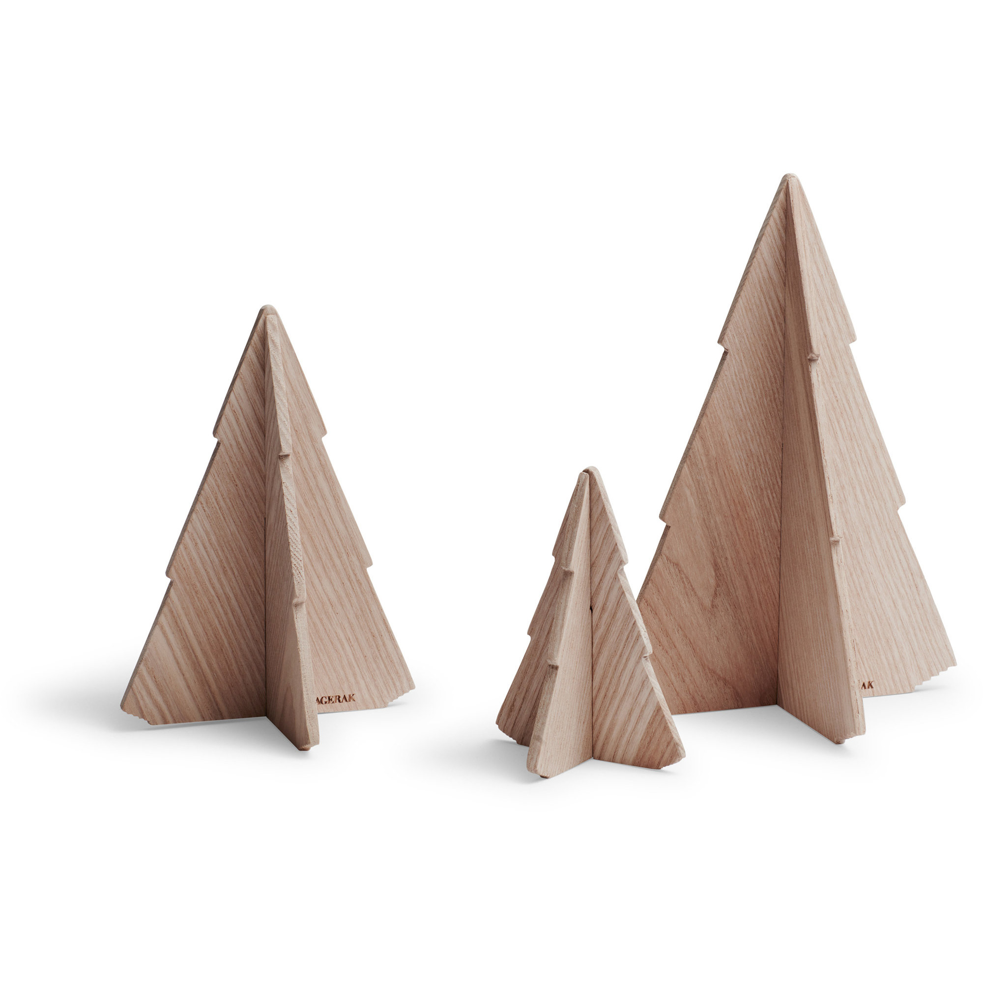 Skagerak Spruce Träd i Ask 3-Pack