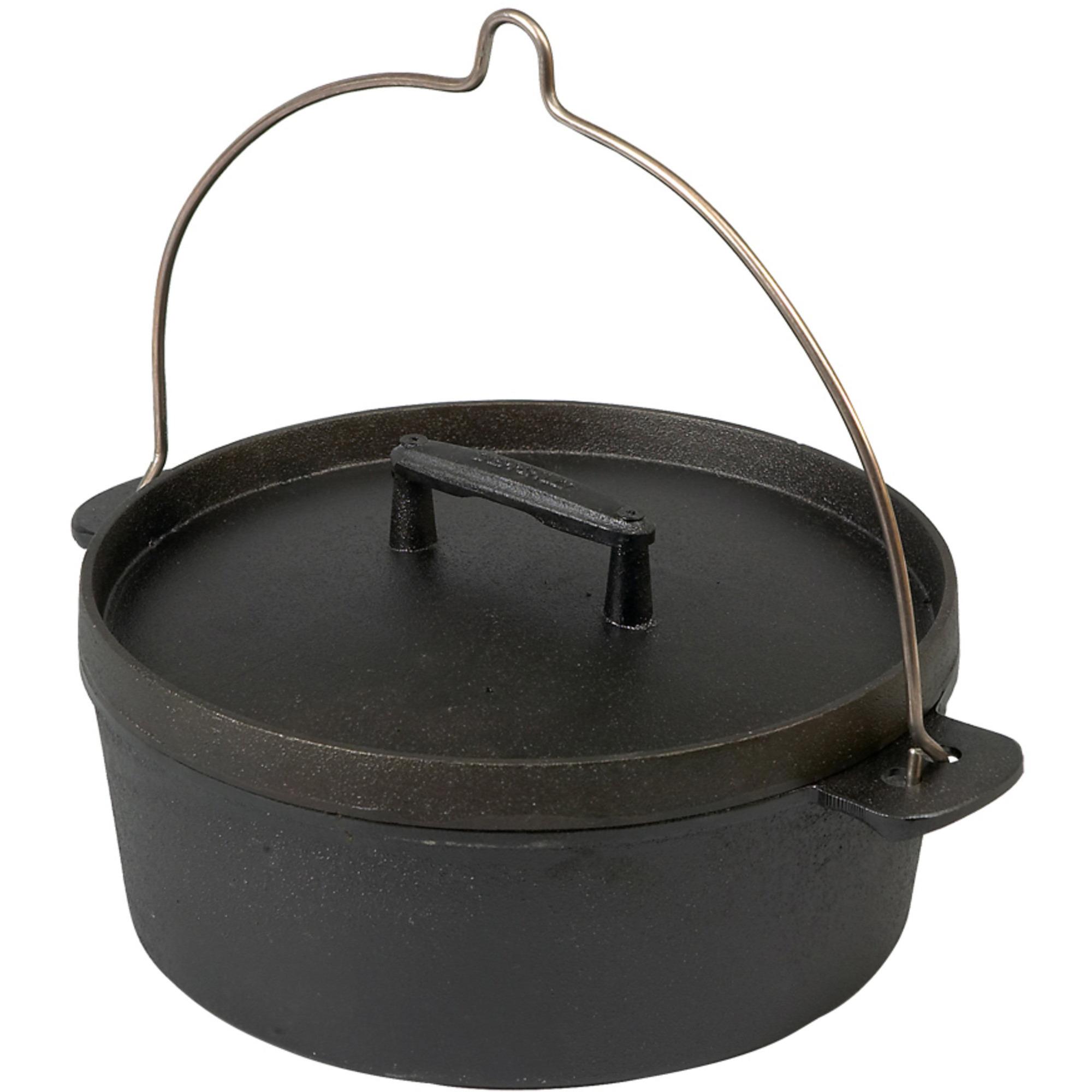 Skeppshult Fältugn 55 liter 29 cm Järnlock