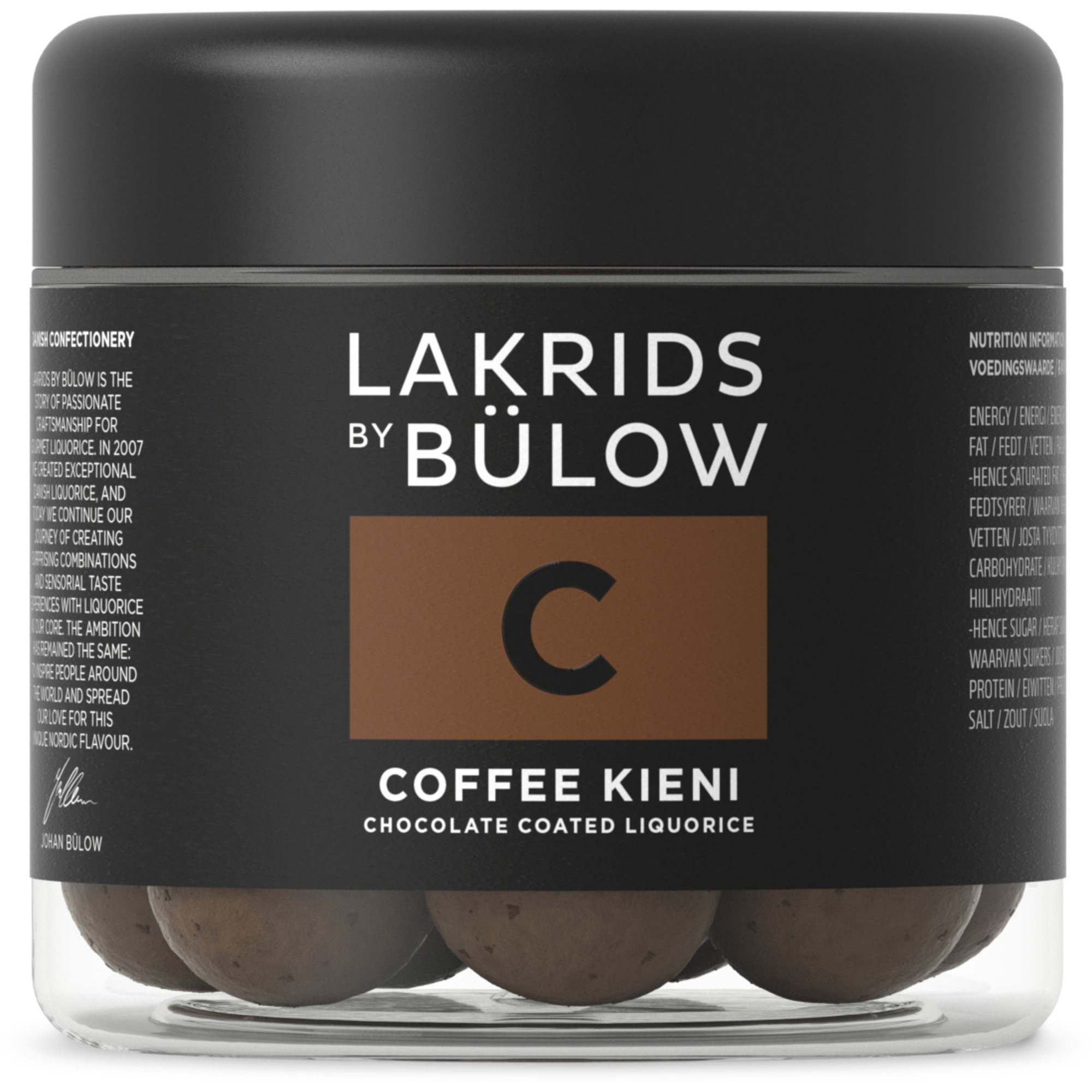 Lakrids by Bülow Small C Coffee Kieni