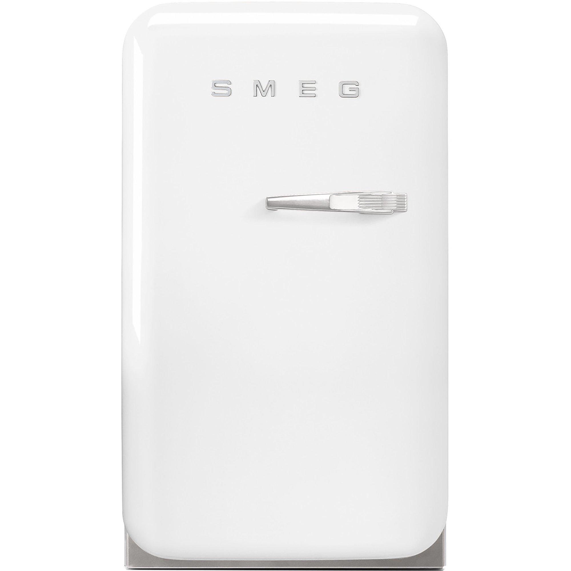 Smeg 74 cm kylskåp i retrostil vänsterhängt – vit