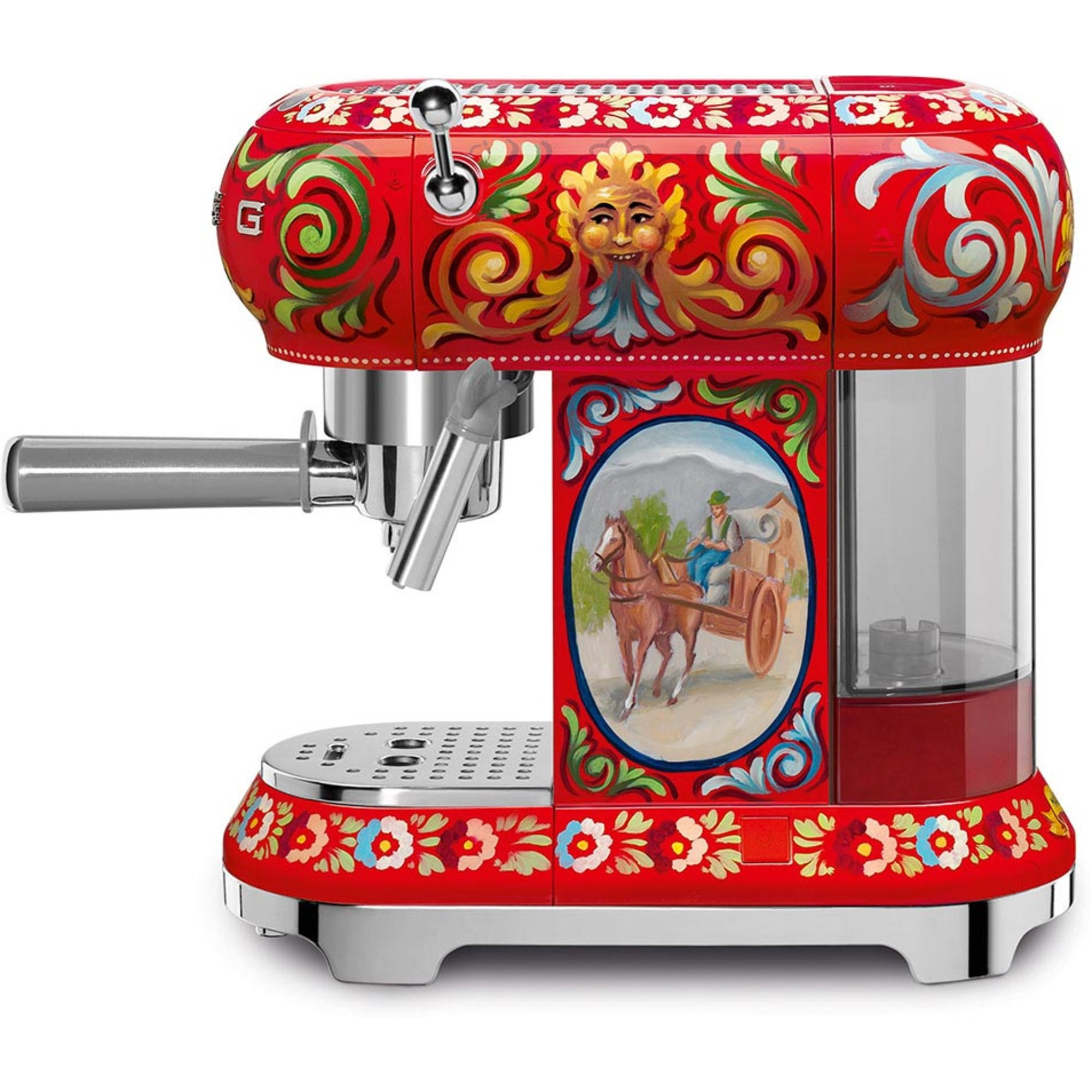 Smeg Dolce & Gabbana Espressomaskin