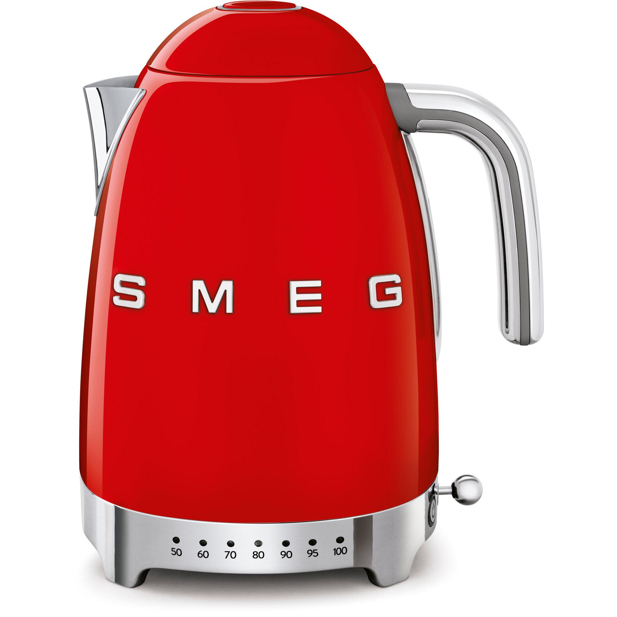 Smeg Vattenkokare 17 l med Variable Temperatur Röd