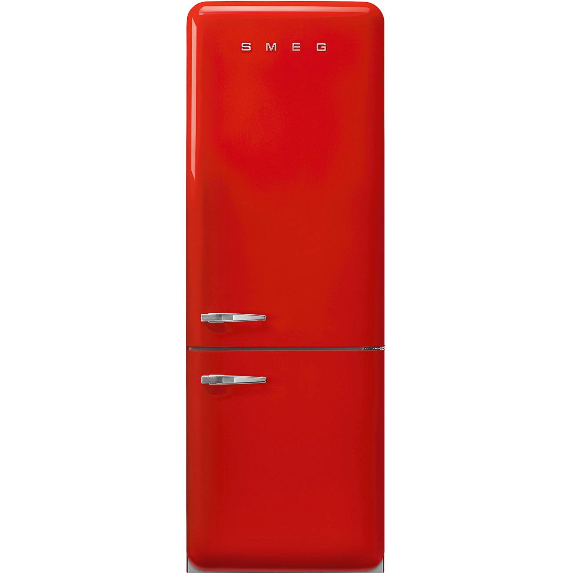 Smeg FAB38RRD5 køle-/fryseskab, rød