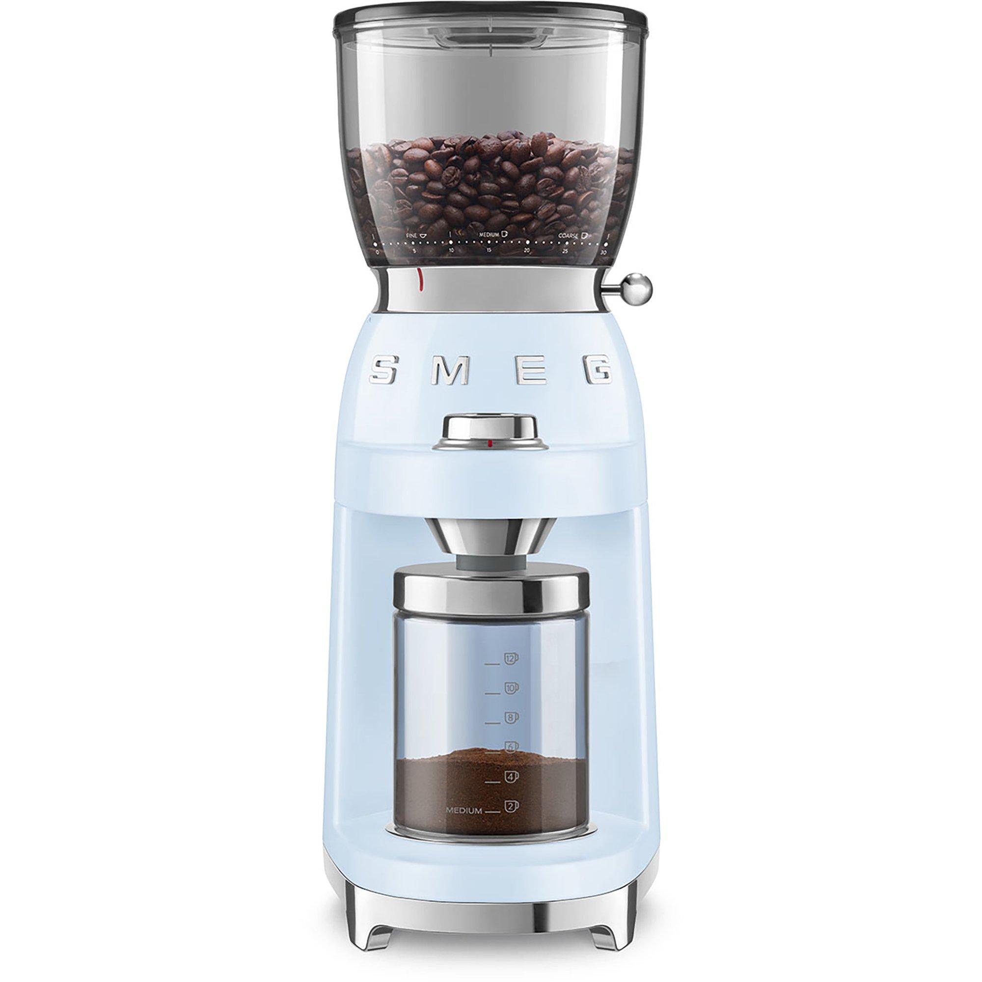 Smeg CGF01 Kaffekvarn Pastellblå