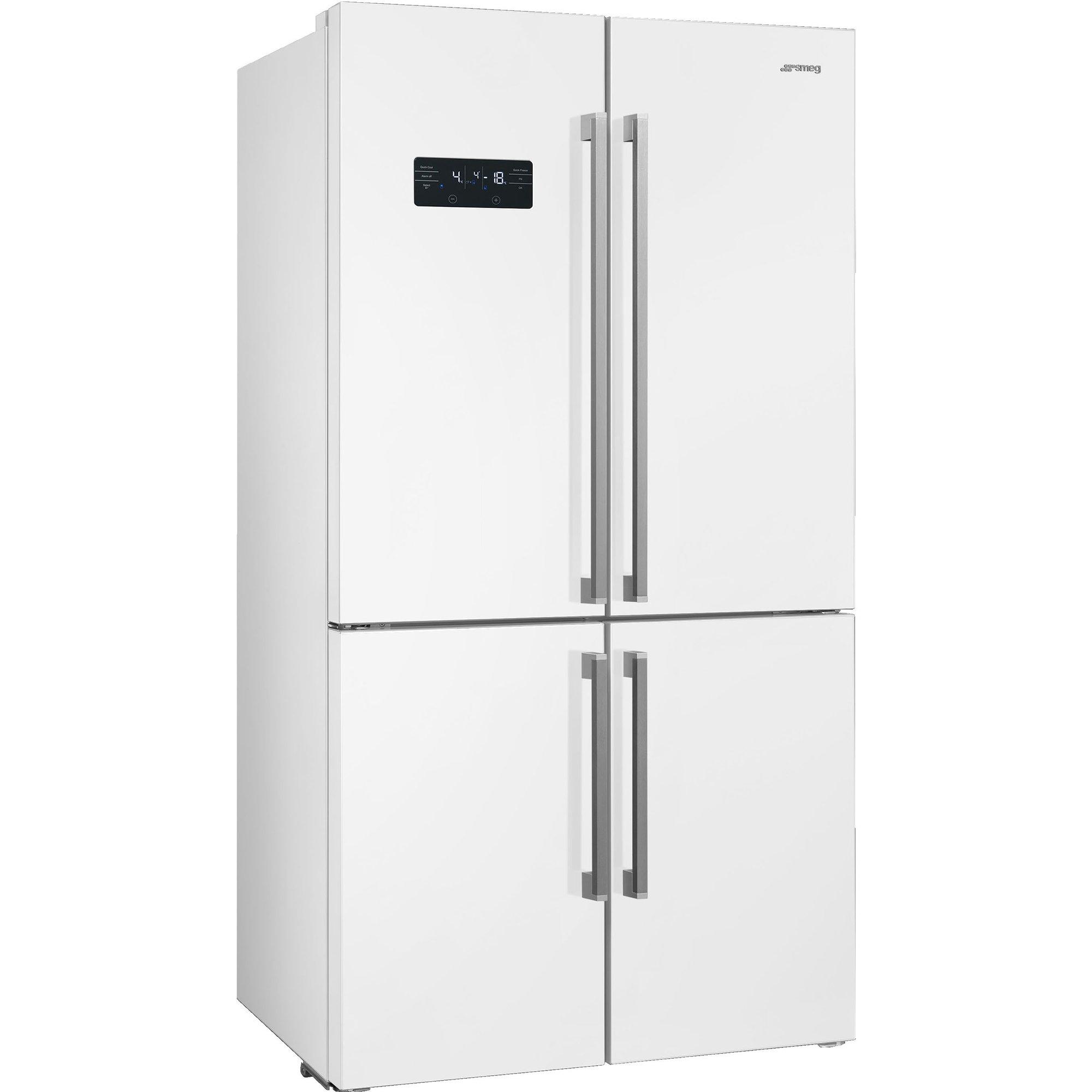 Smeg Kylskåp/frys med 4 dörrar No frost – Vit