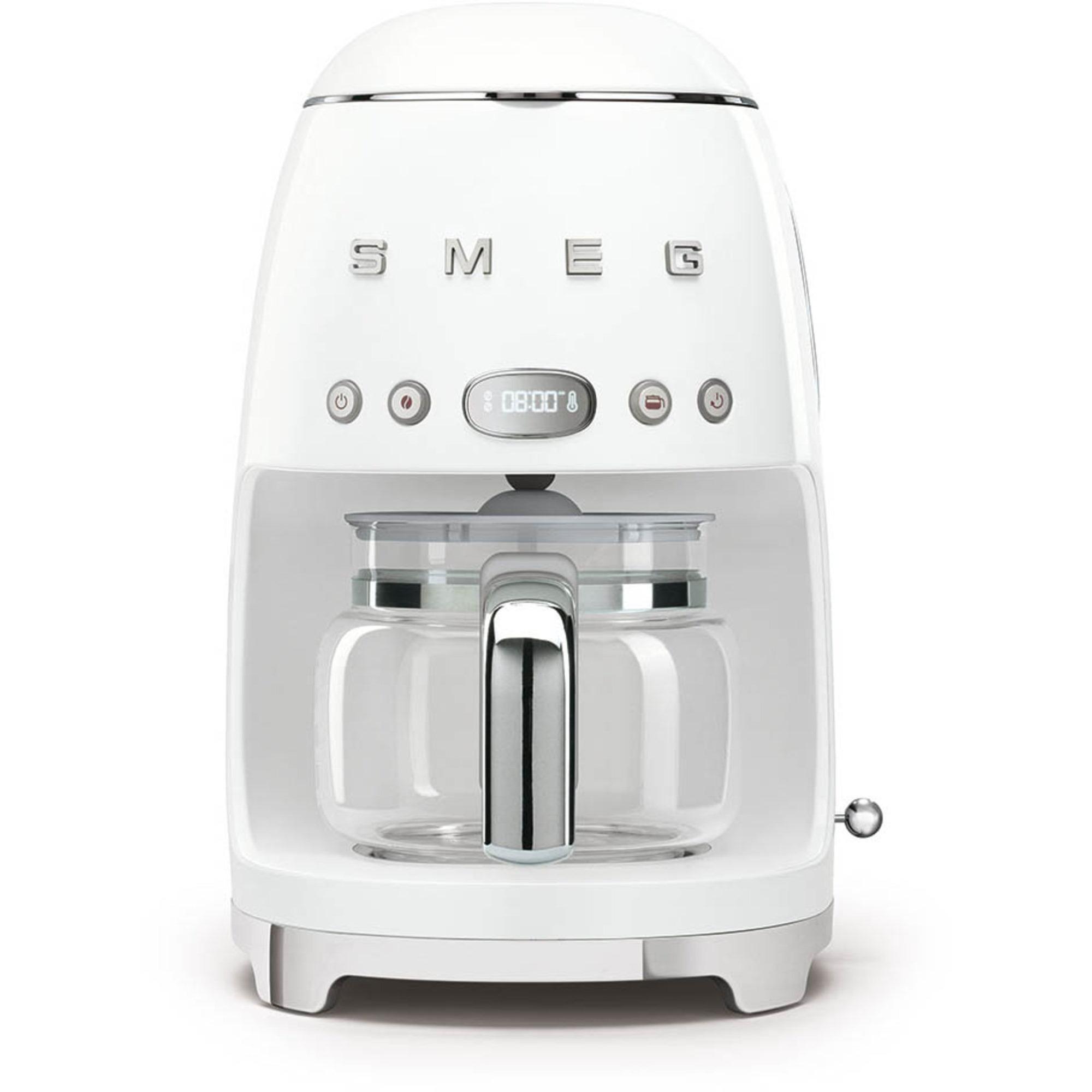 Smeg Retro kaffemaskin DCF01WHEU