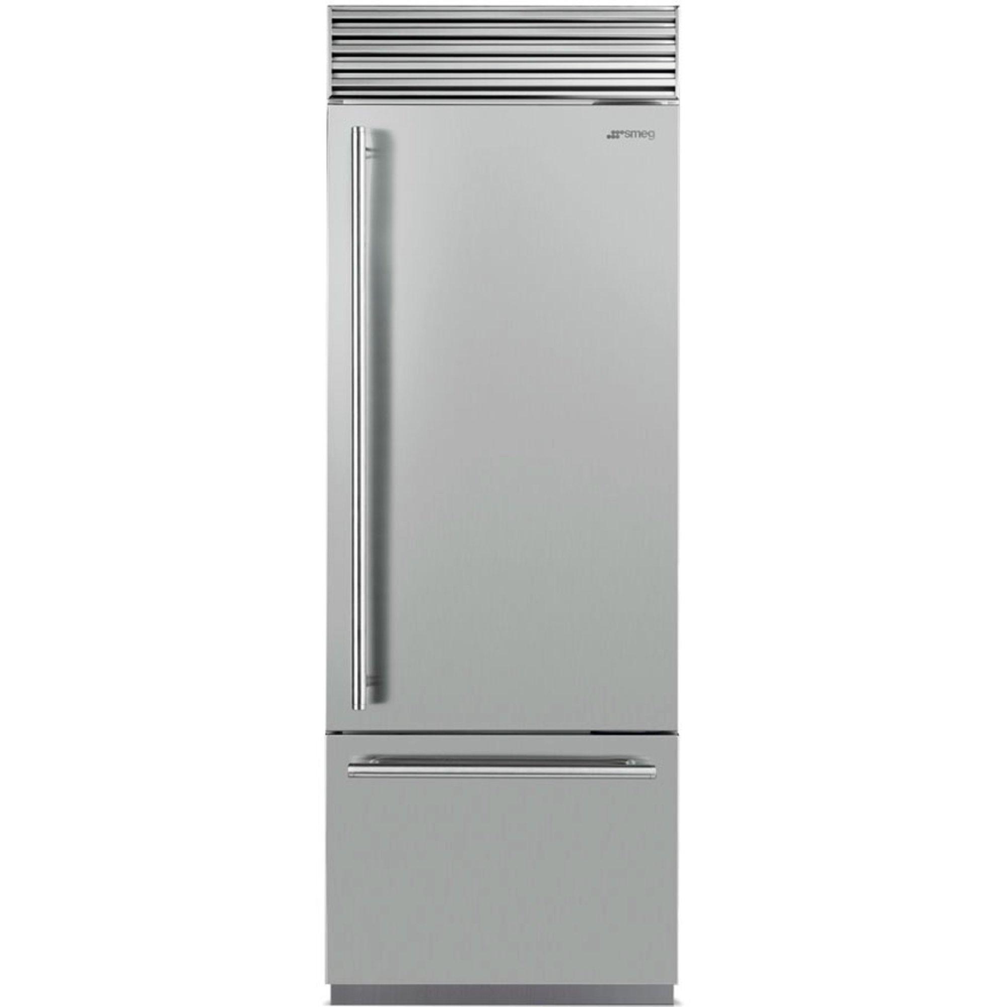 Smeg RF376RSIX Køle-/fryseskab højrehængt