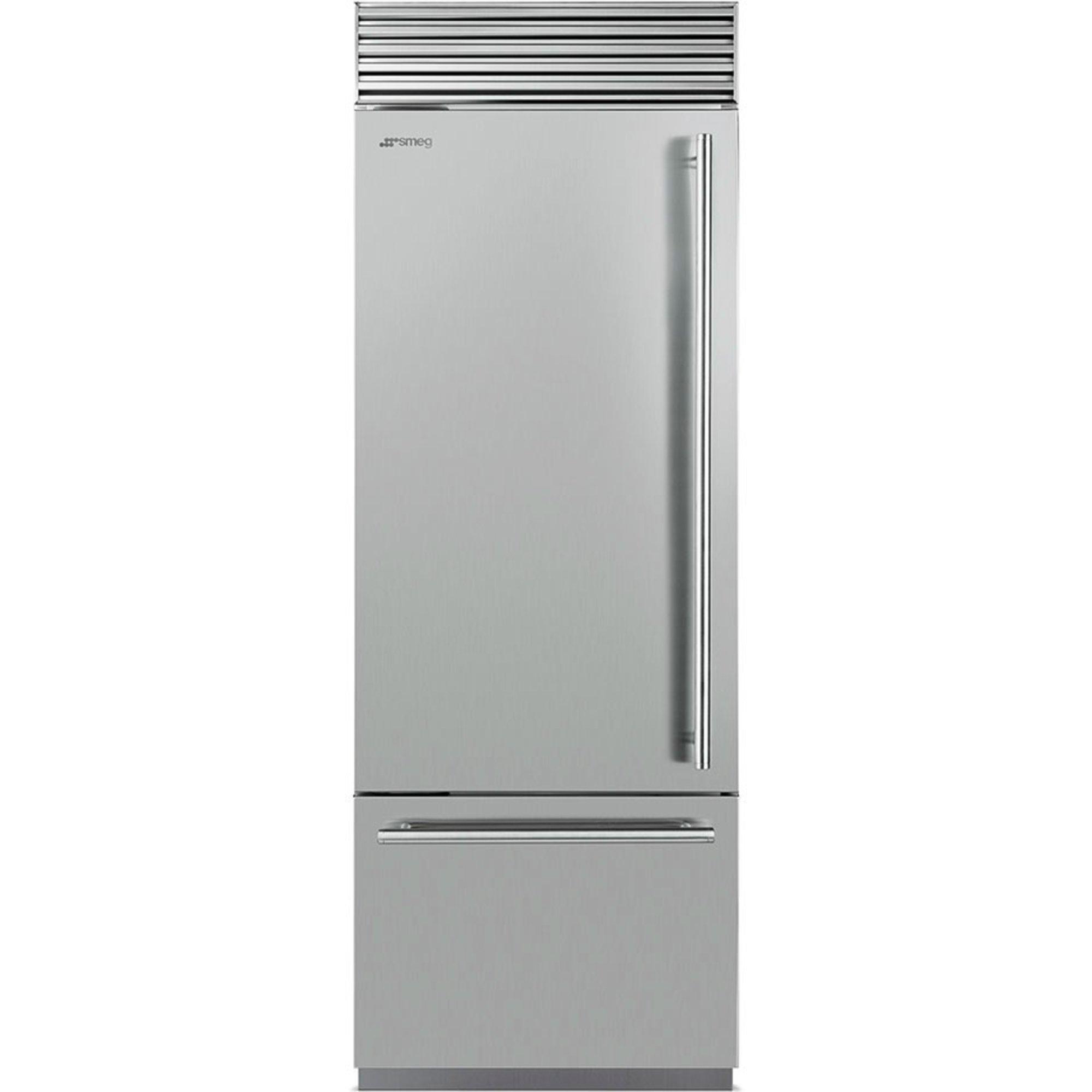 Smeg RF376LSIX Køle-/fryseskab venstrehængt