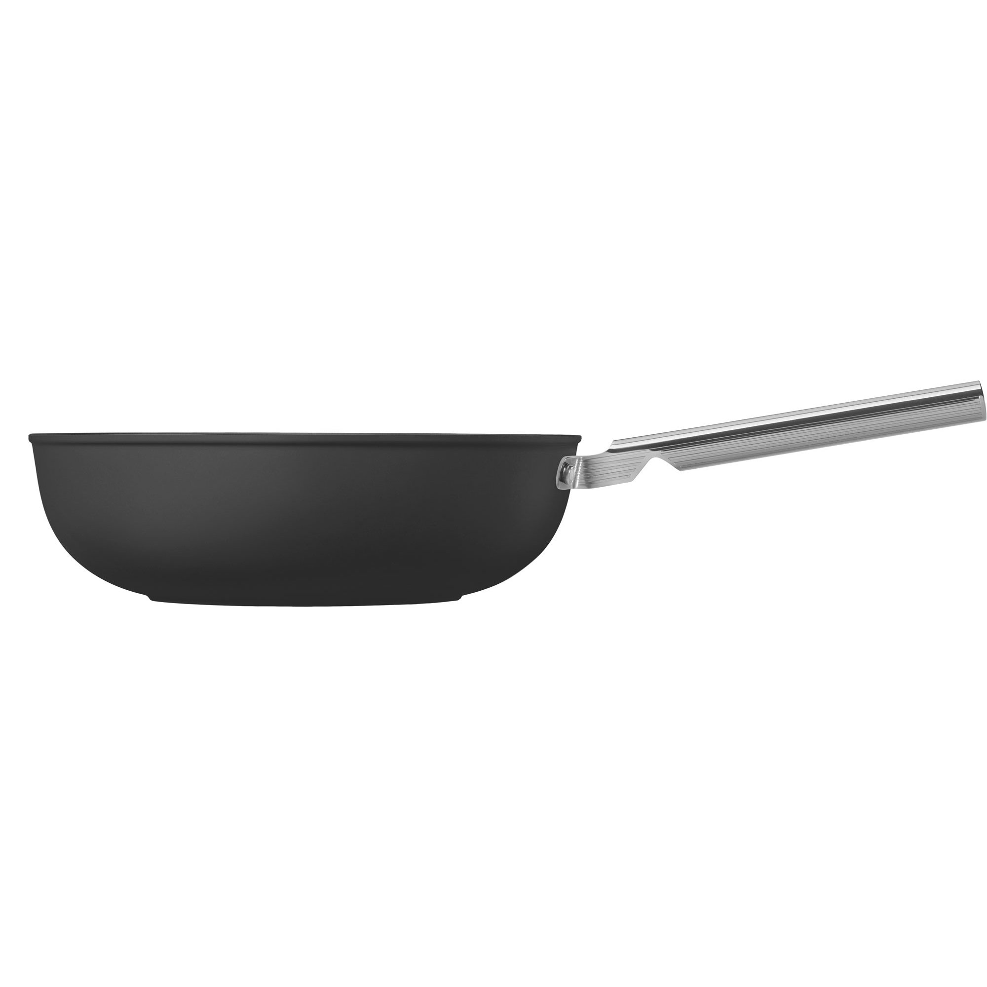 Smeg Wokpanna 30 cm svart