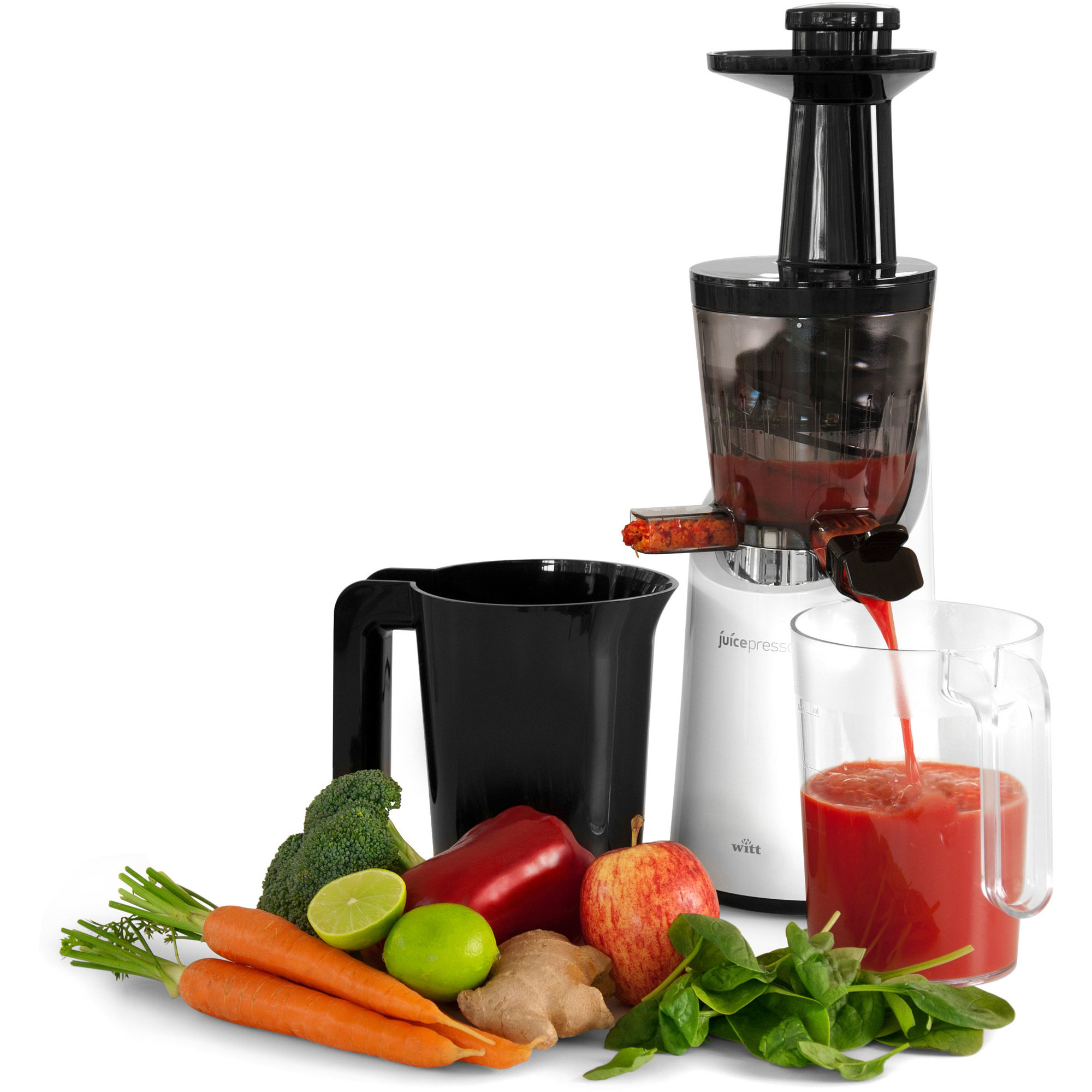 Juice Med Slow Juicer : Smoothie Juicepresso Slow Juicer fra Witt Gratis Levering