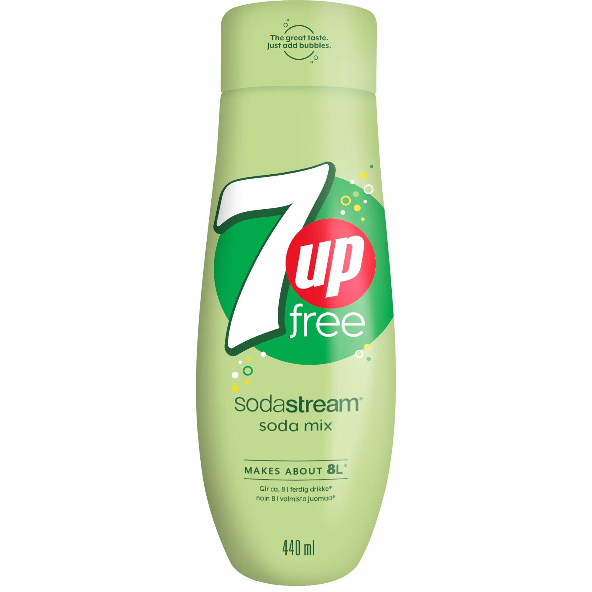 SodaStream 7UP Free Smakkoncentrat 440ml