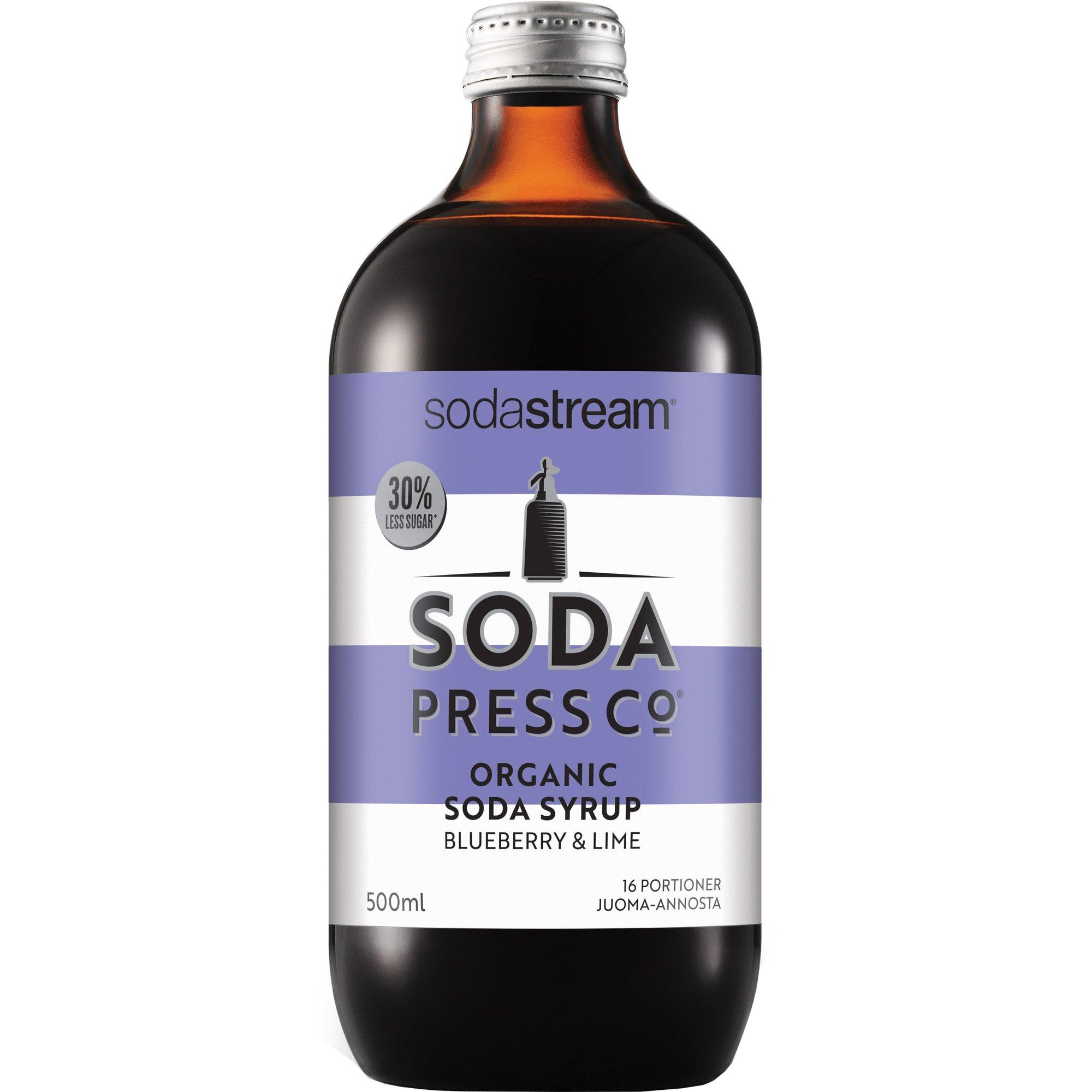 SodaStream Blueberry & Lime Ekologisk Smakkoncentrat