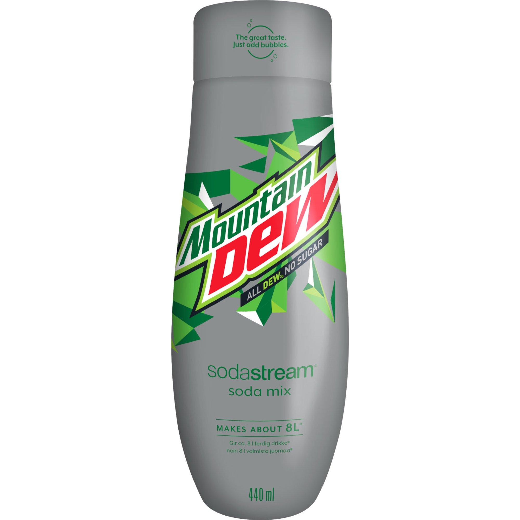 SodaStream Mountain Dew Diet Smakkoncentrat 440ml