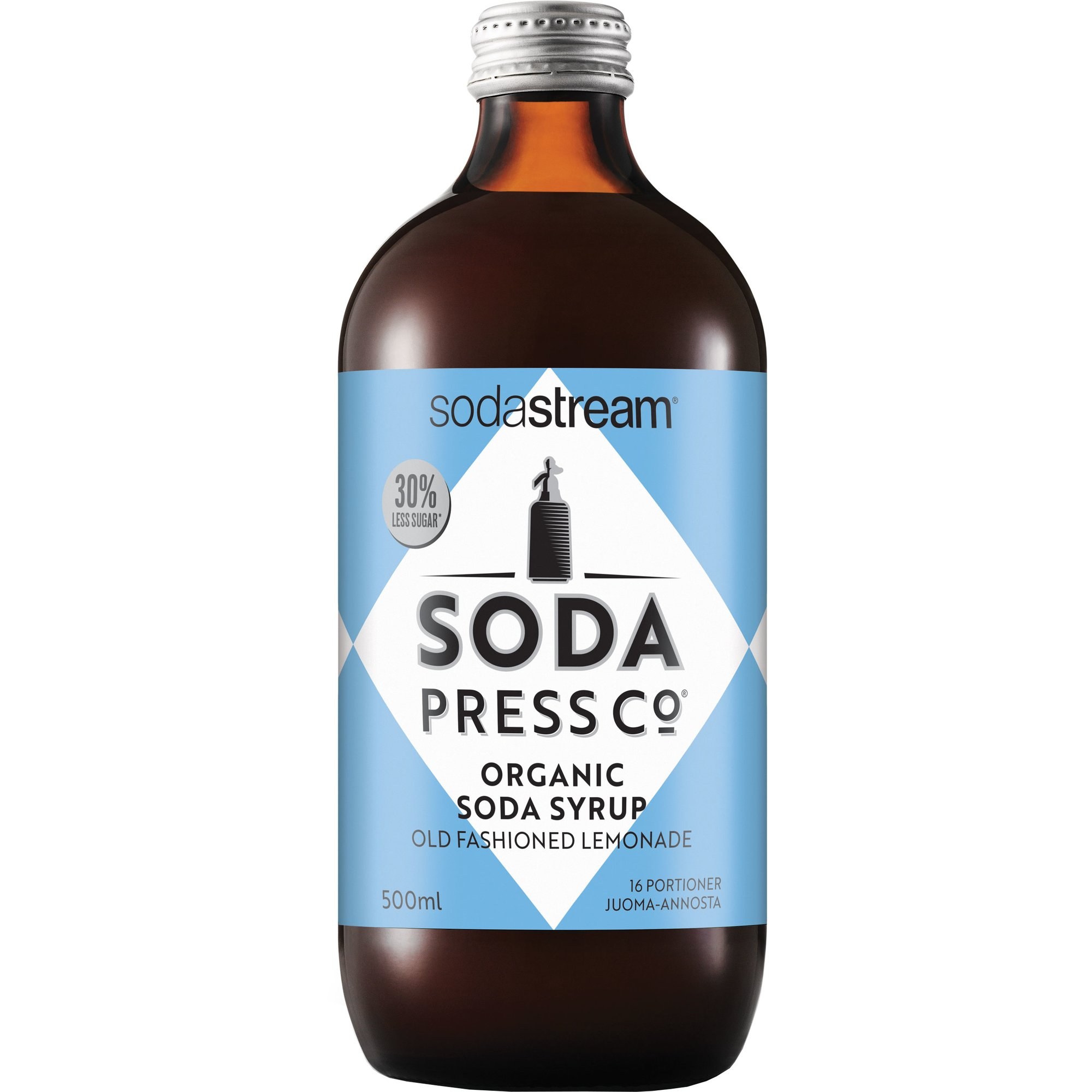 SodaStream Old Fashioned Lemonade Ekologisk Smakkoncentrat 500 ml