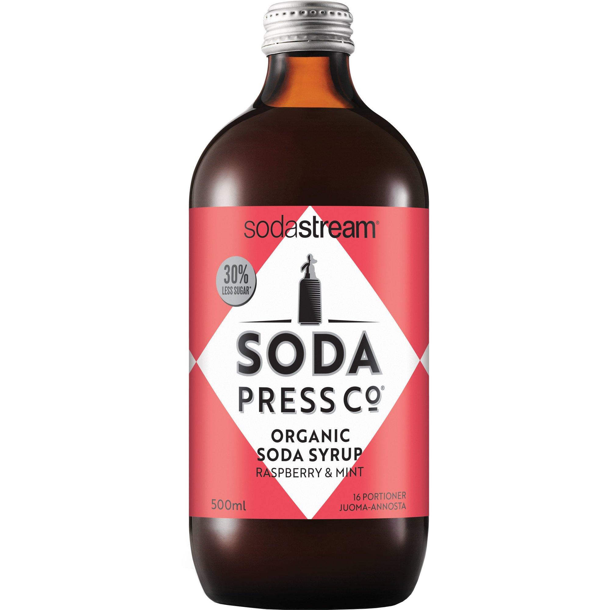 SodaStream Rasberry & Mint Ekologisk Smakkoncentrat 500 ml