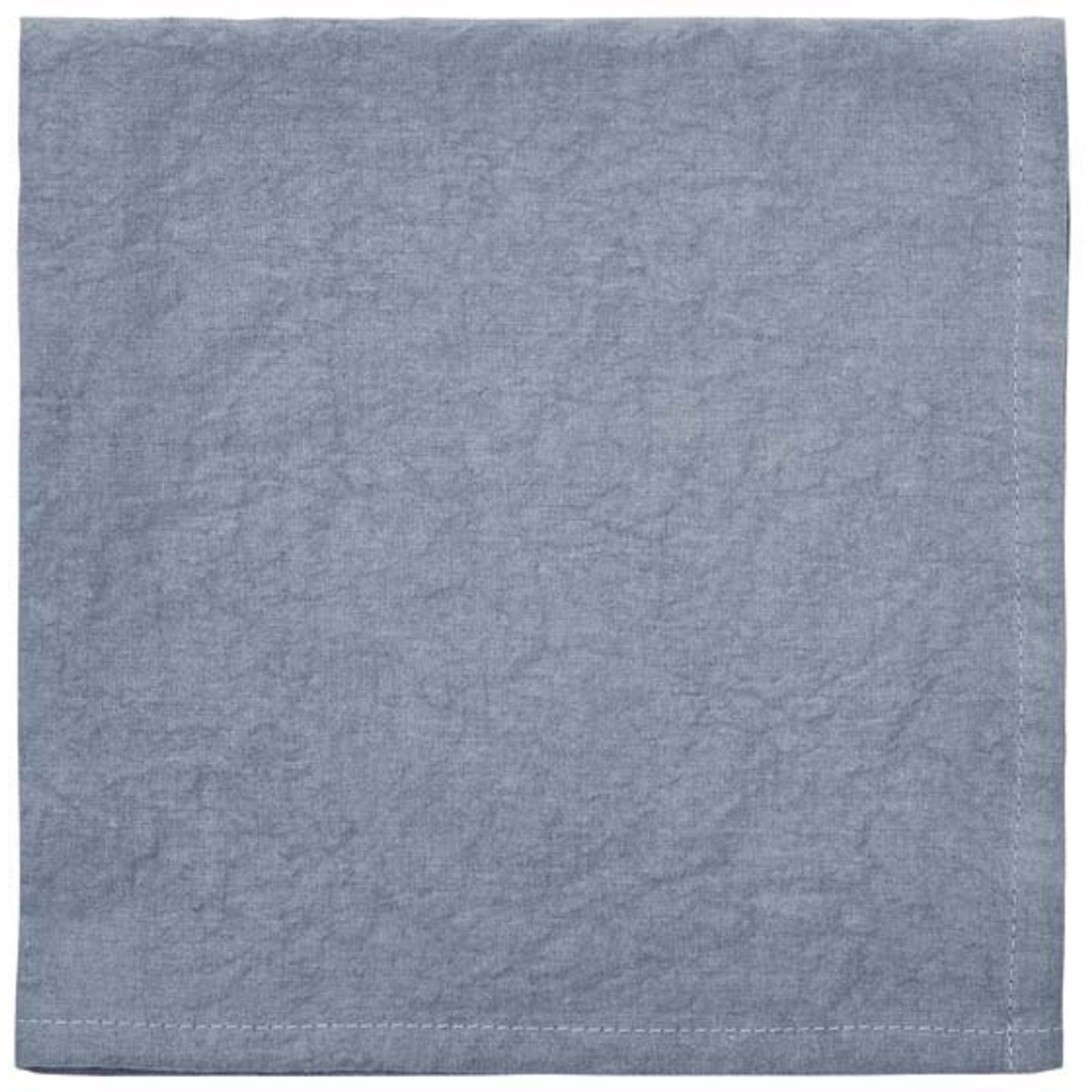 Södahl Tygservett 45×45 Essential Blå