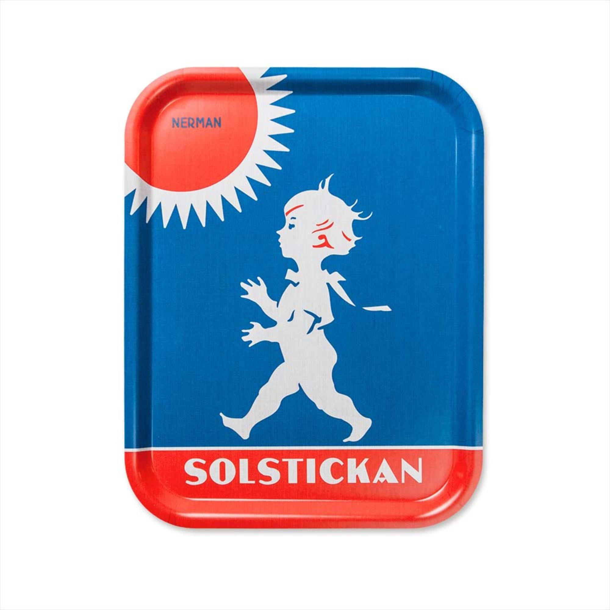 Solstickan Design Bricka Original Motiv 36x28cm