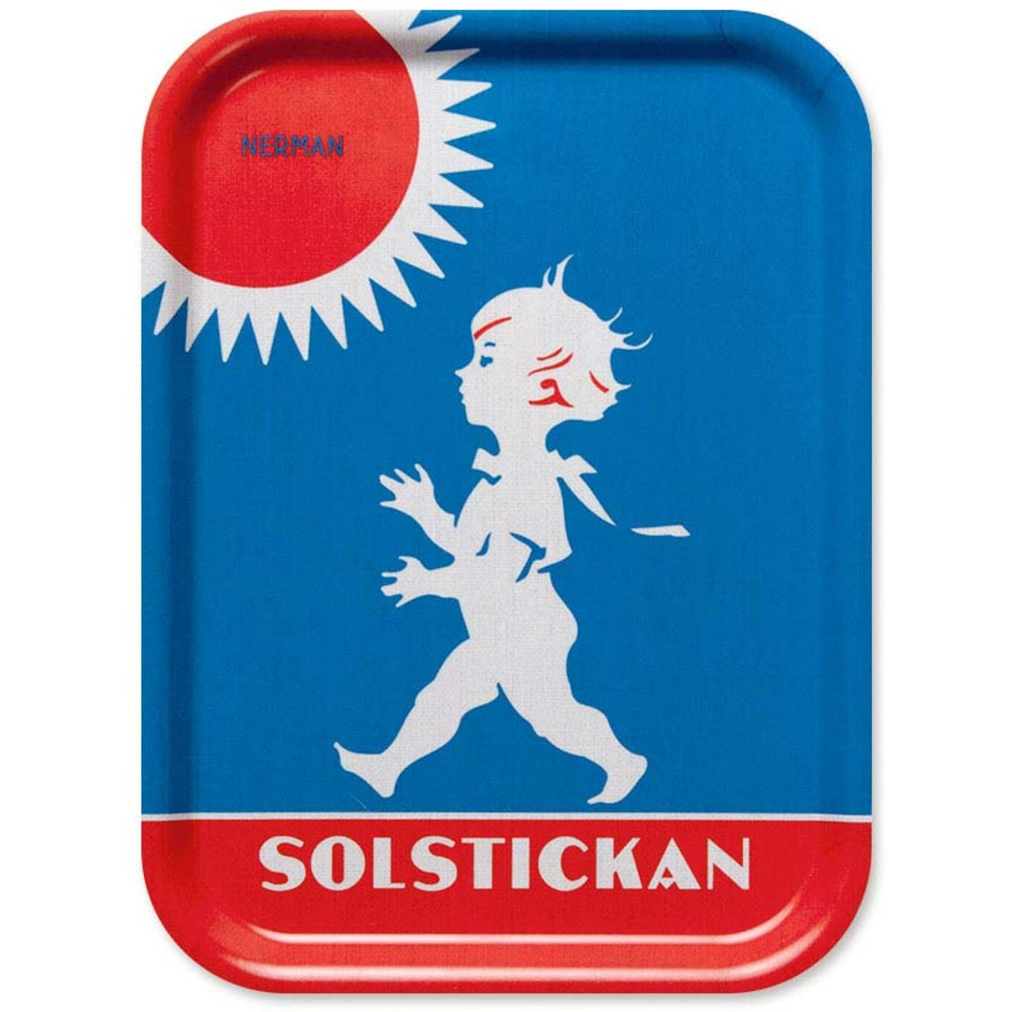 Solstickan Design Bricka Original Motiv 27×20