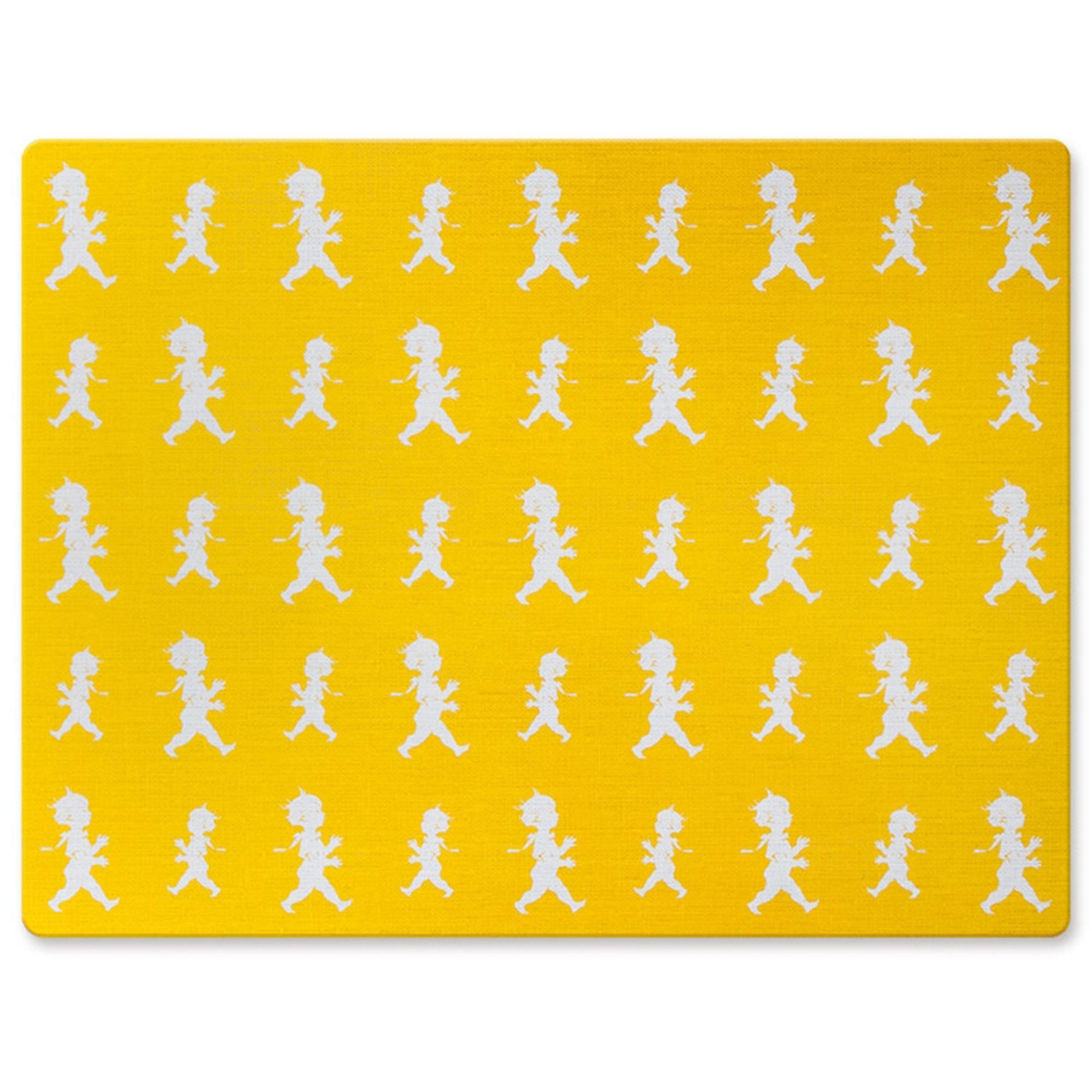 Solstickan Design Bordstablett storlek 30 x 40 cm Färg Gul 4-pack