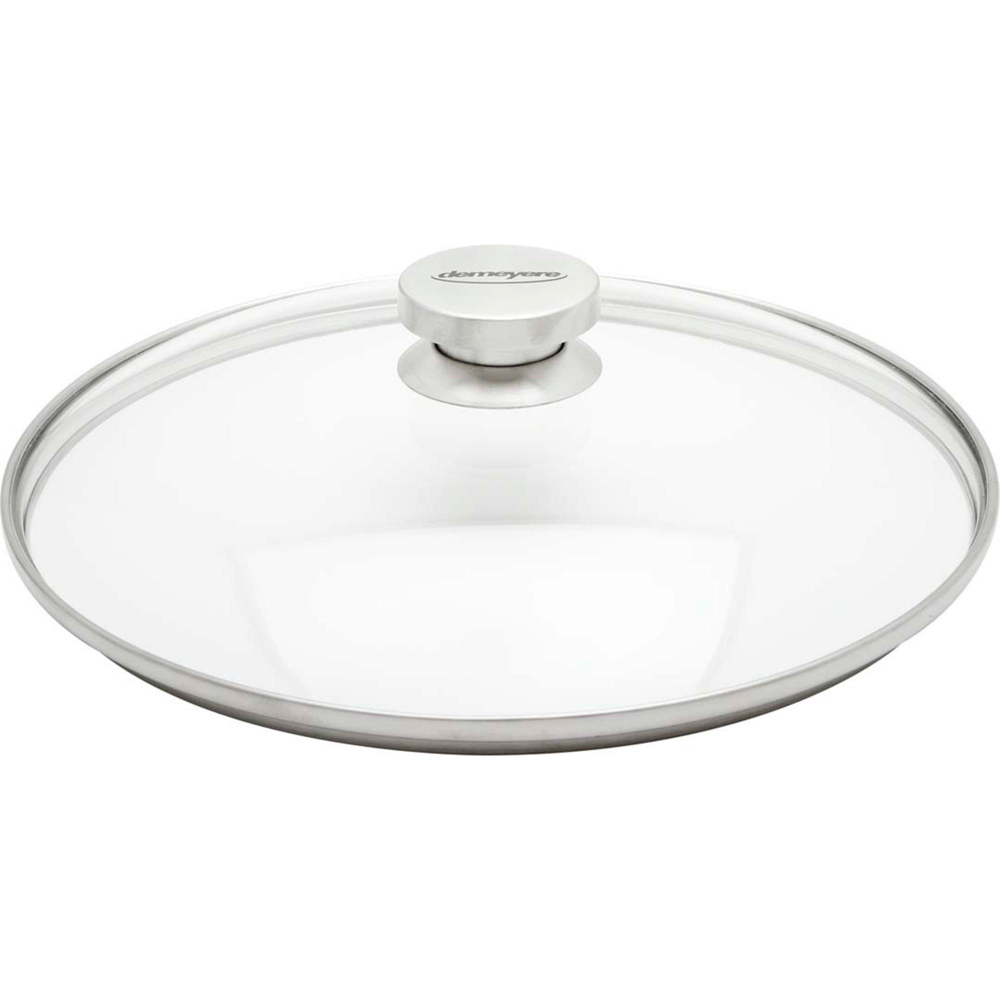 Demeyere Specialties Lock 18 cm Glas med Stålknopp