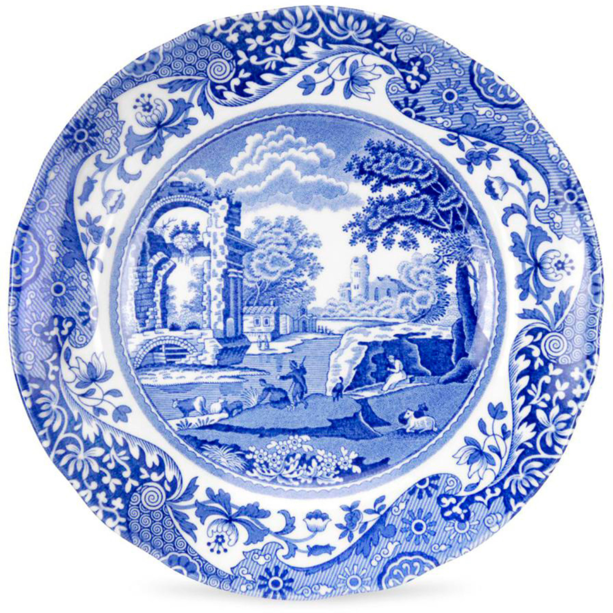 Spode Blue Italian Assiett 16 cm