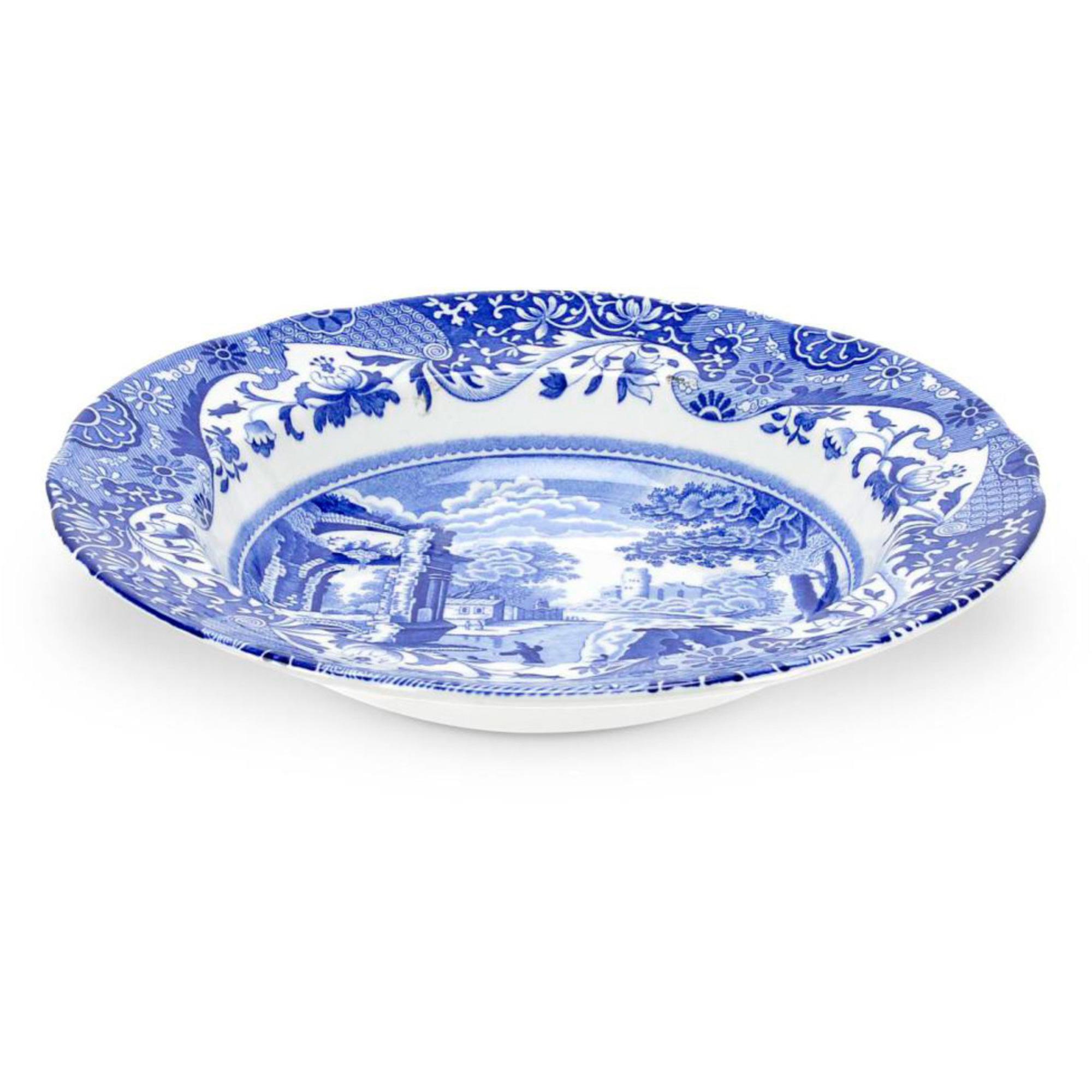 Spode Blue Italian Sopptallrik 23 cm
