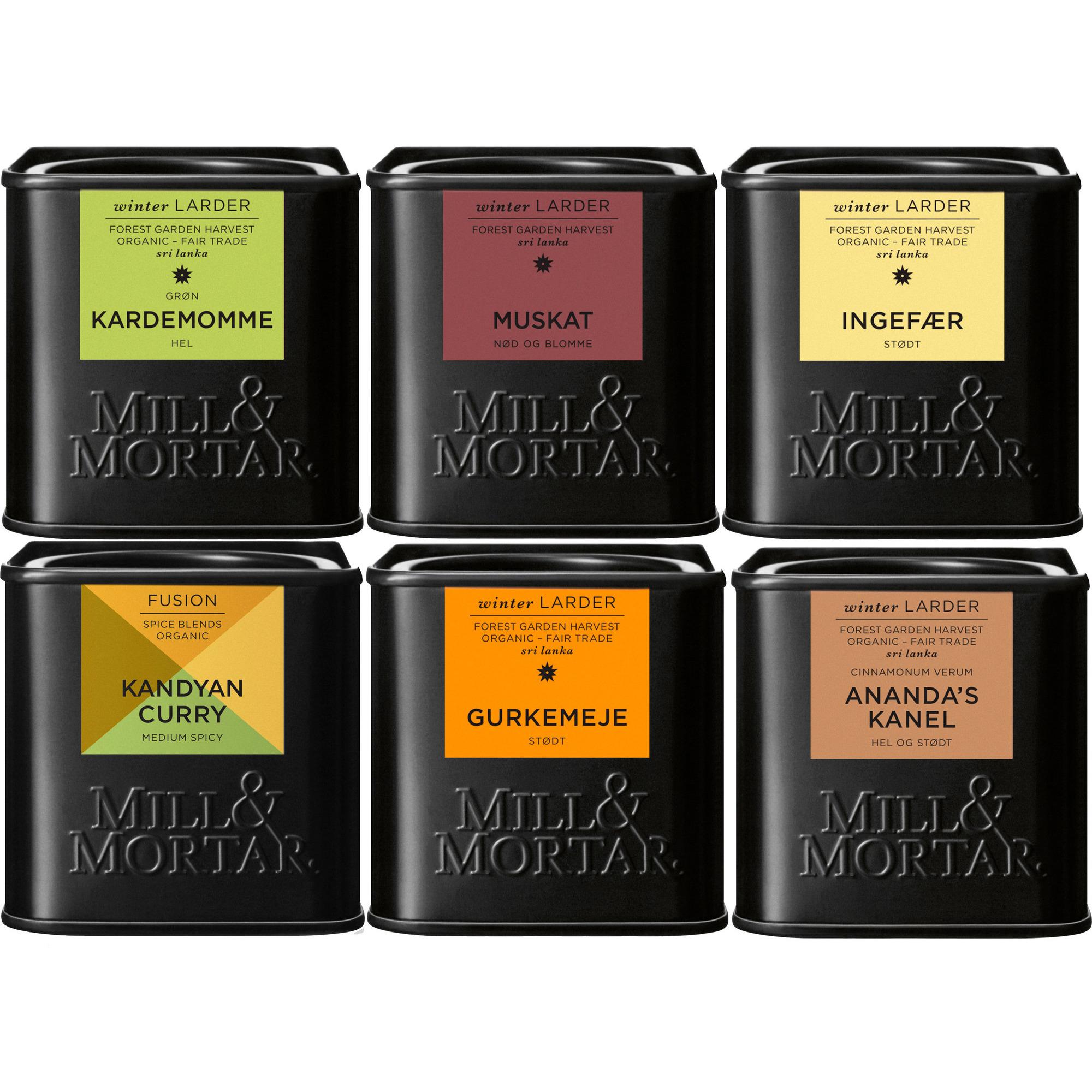 Mill & Mortar Sri Lanka Kryddor
