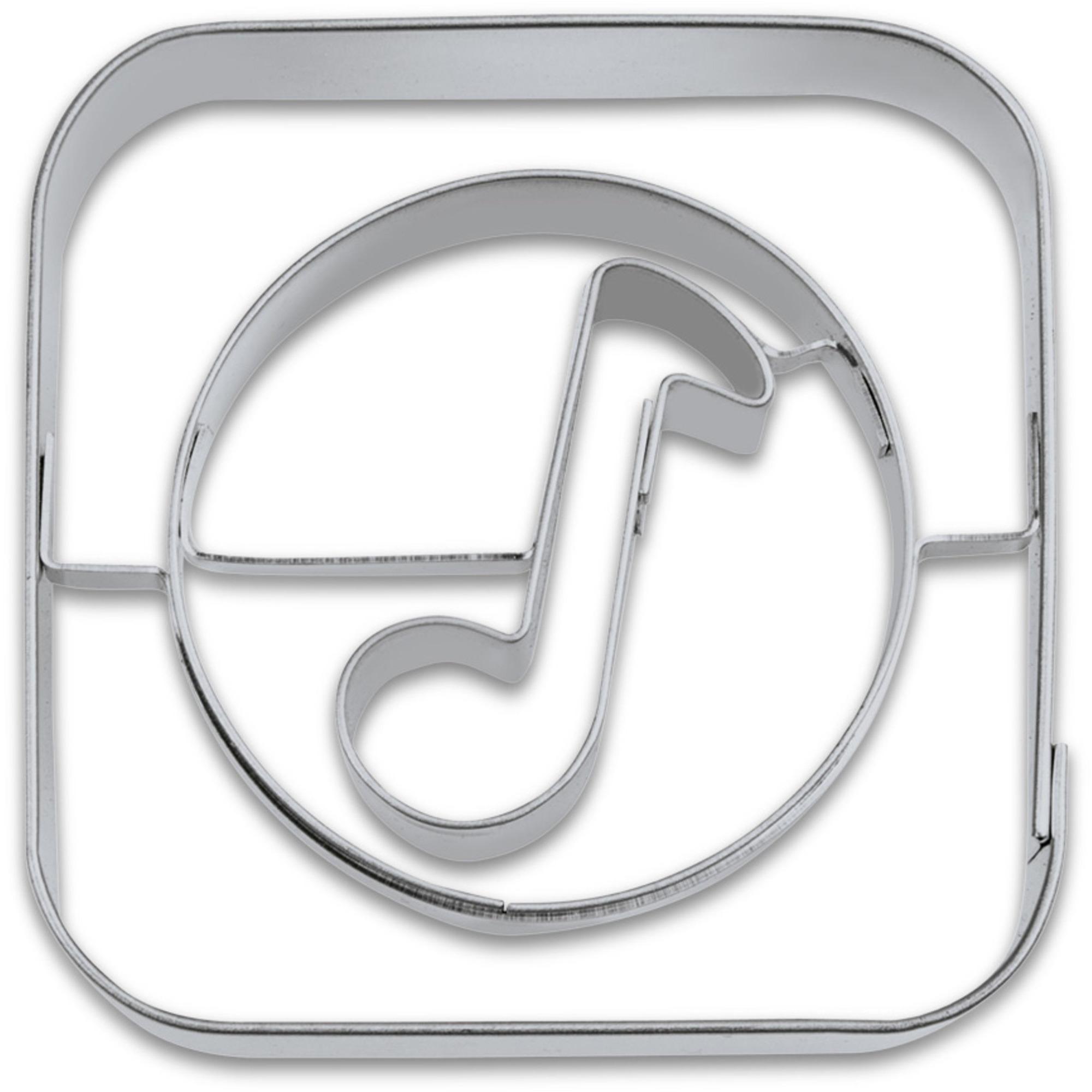 Städter Kakform Utstickare App Musik