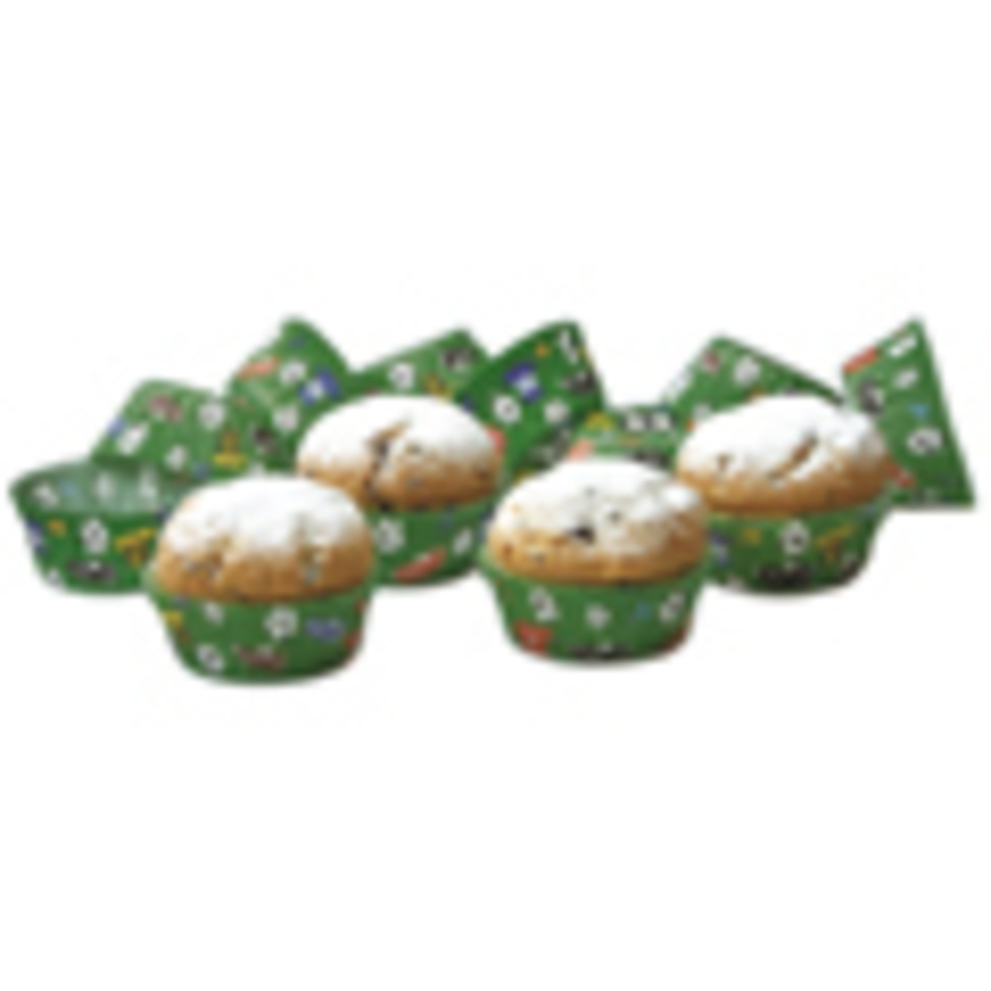 Städter Muffinsformar Fotboll 50 st