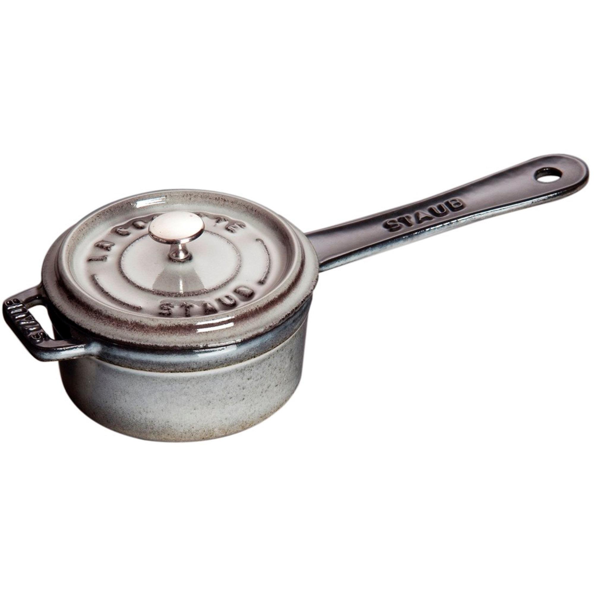 Staub Kastrull 10 cm grå 025 L