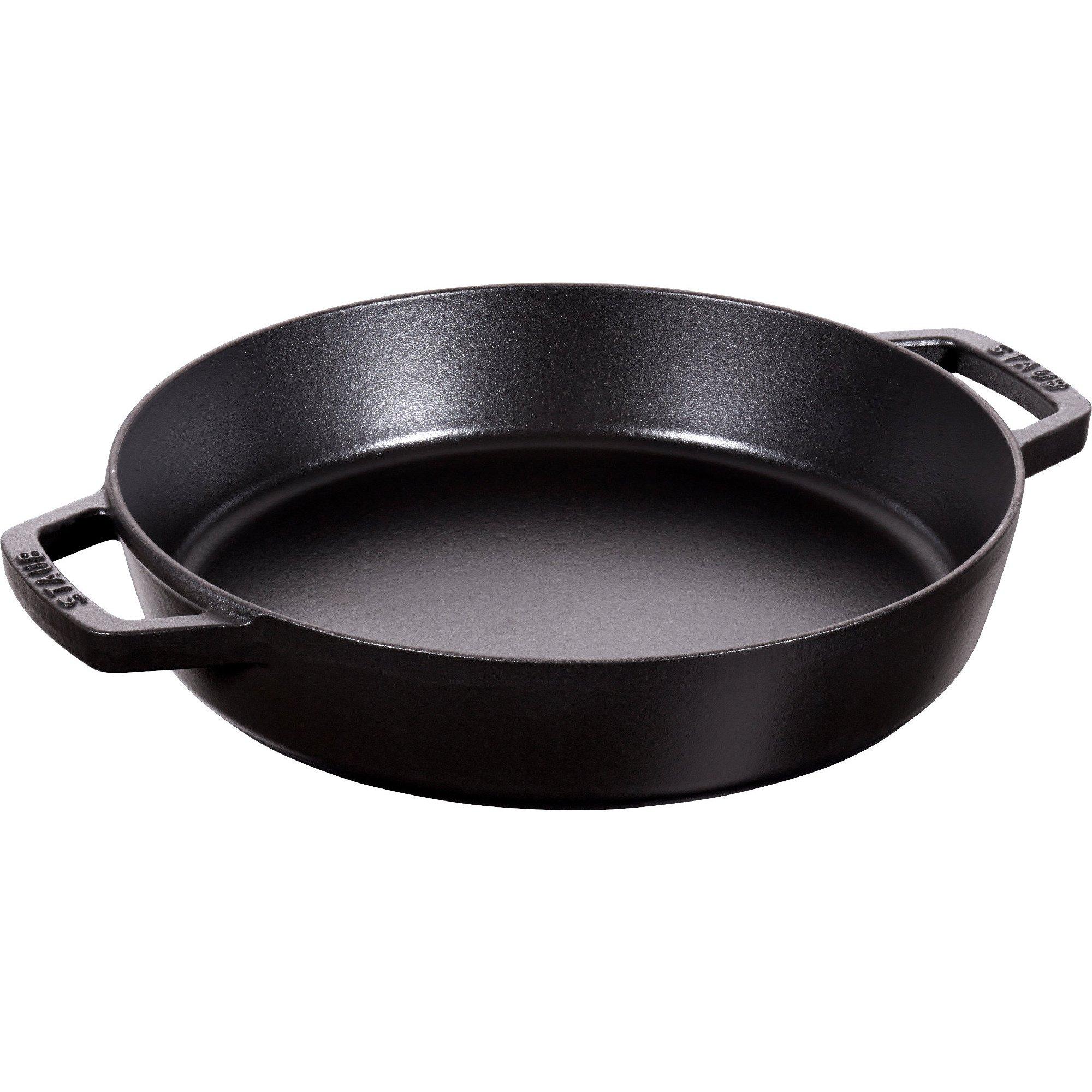 Staub Pans Series Sautépanna med Två Handtag Svart 26 cm