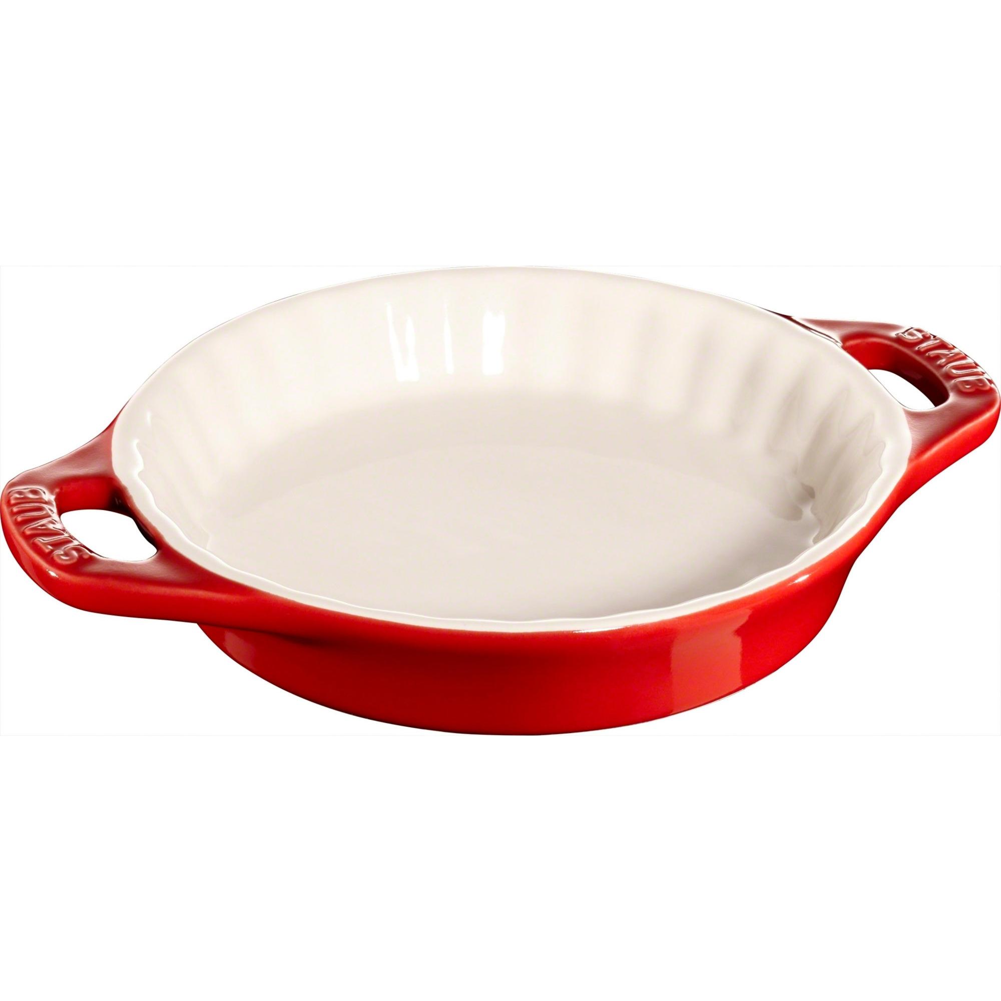 Staub Pajform 13 cm röd