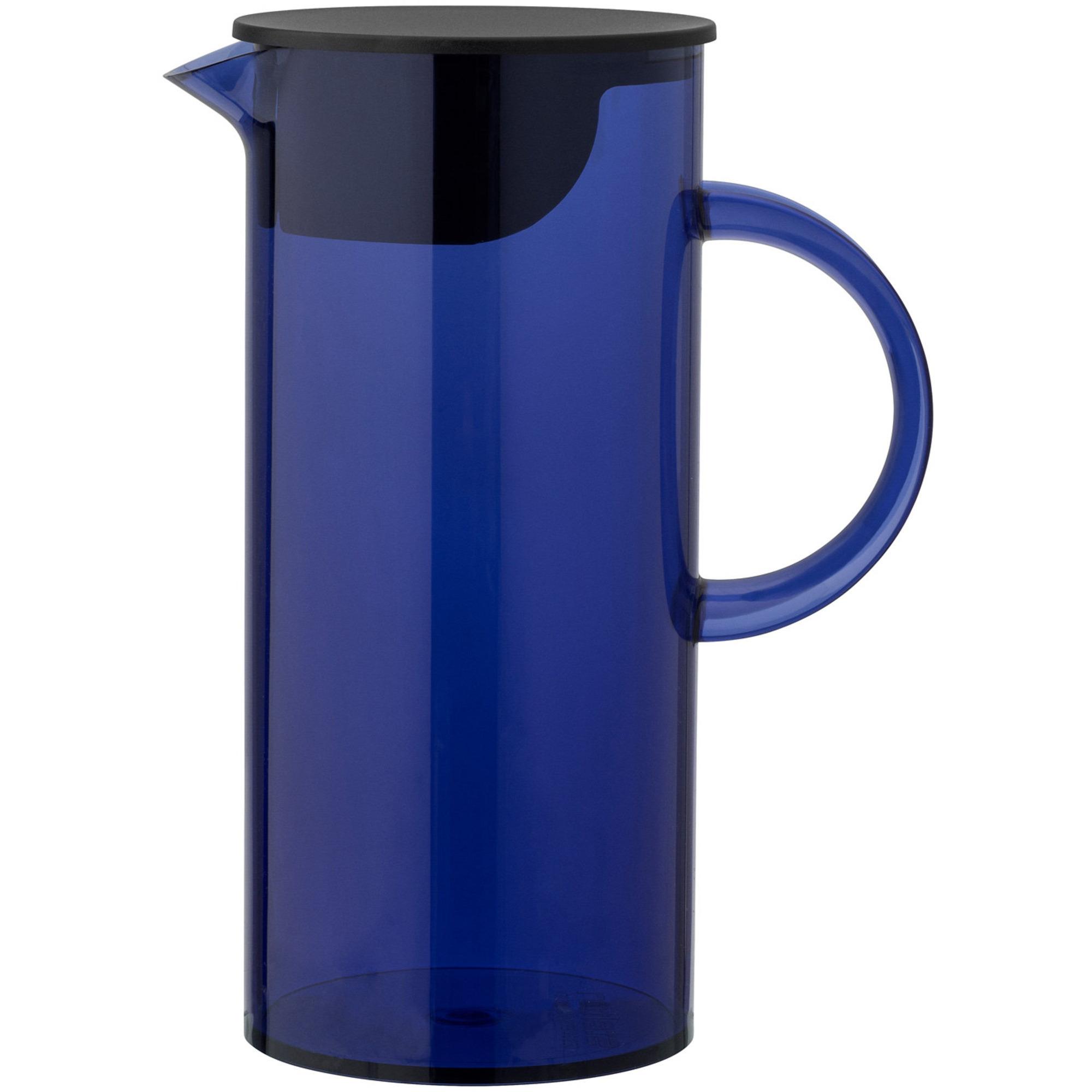 Stelton EM Kanna med lock 15 liter Transparent Ultramarine