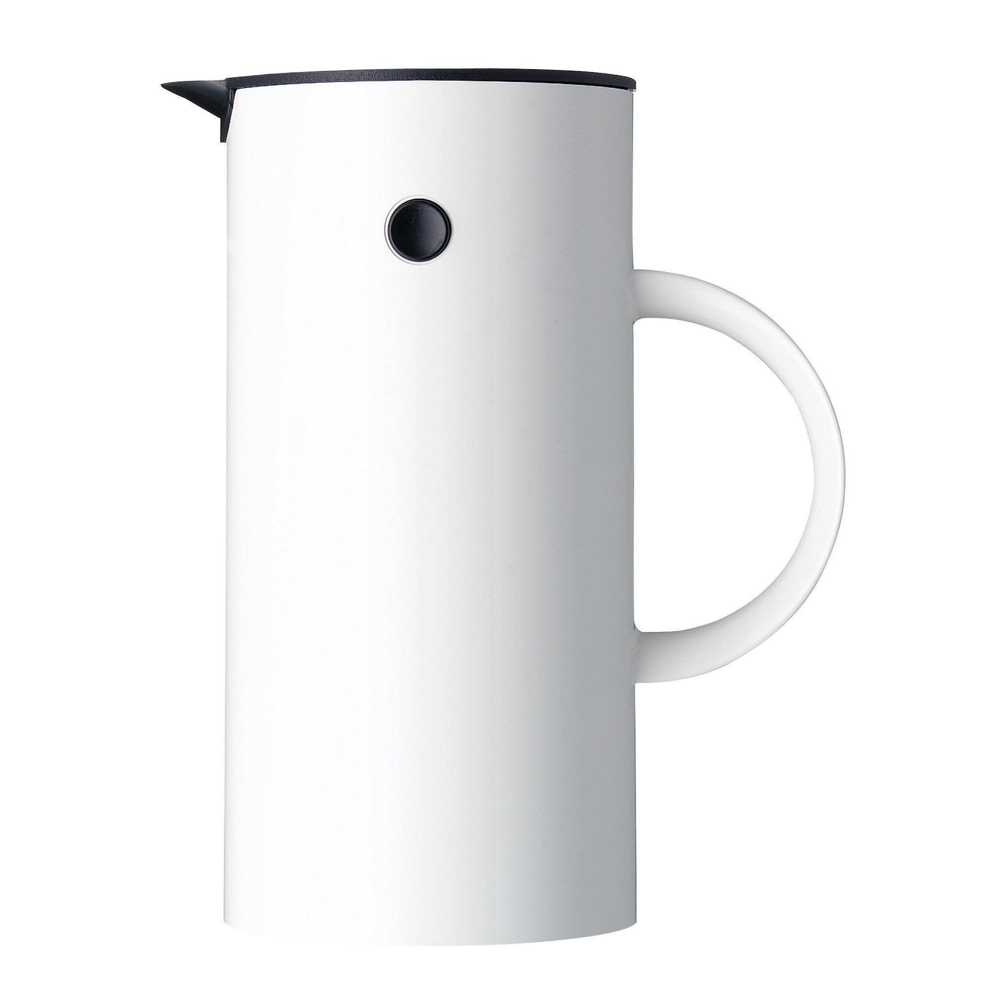 Stelton EM Kaffepress 8 koppar – vit