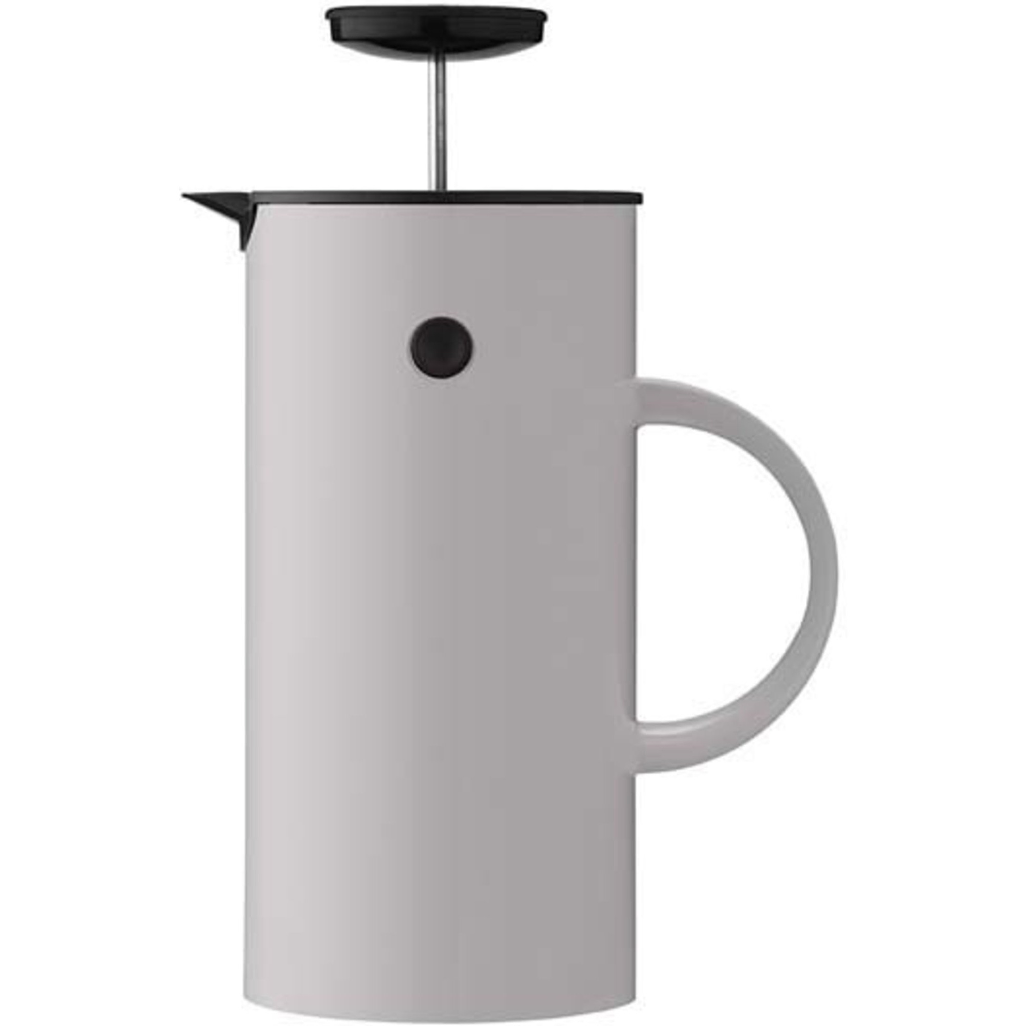 Stelton EM Presskanna Te 1 liter Ljusgrå