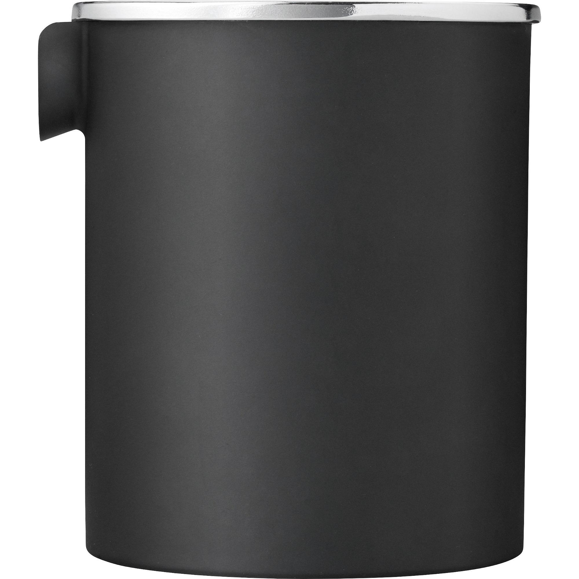 Stelton EM77 Reverse mjölkkanna 025 liter – matt svart/mirror