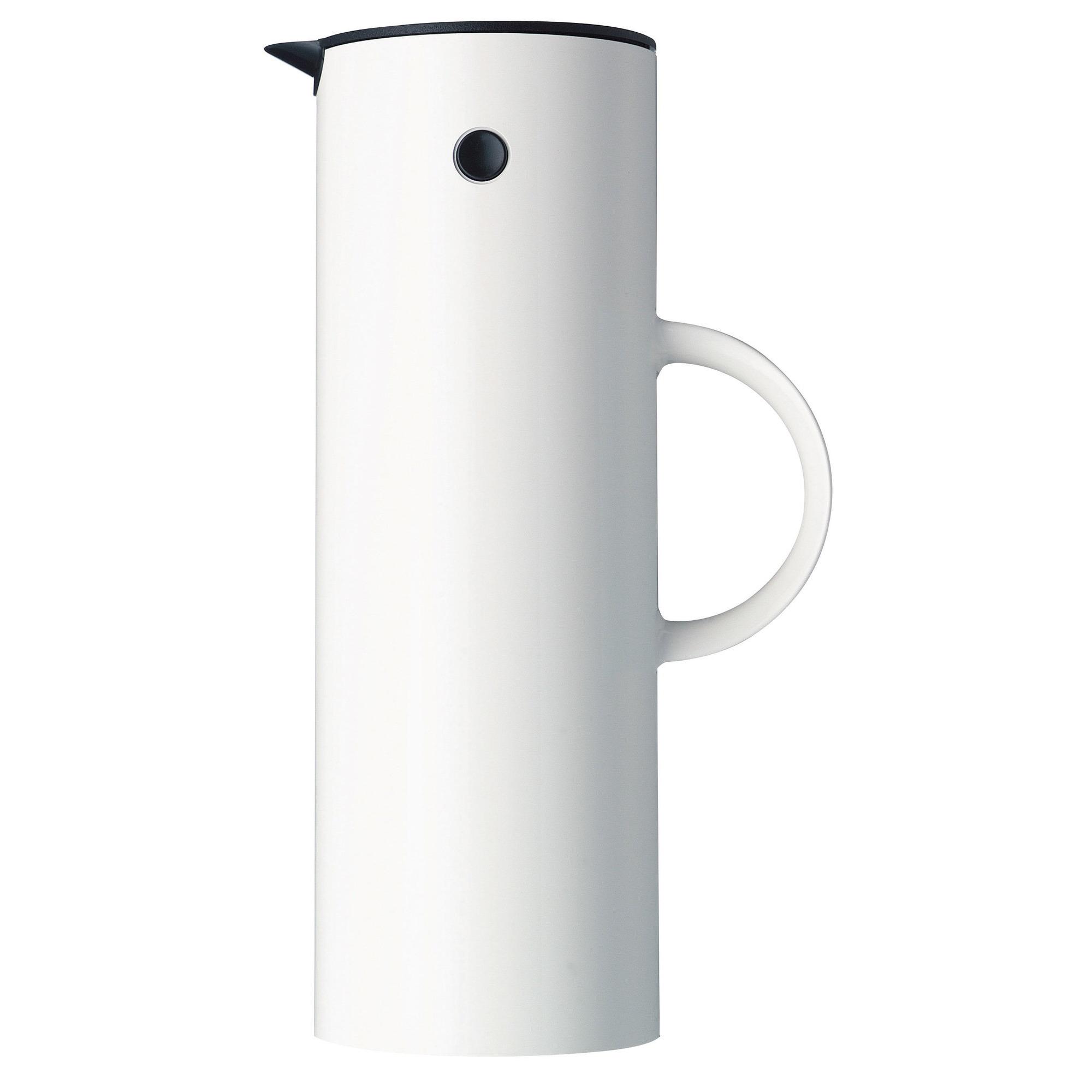 Stelton EM77 termoskanna 1 liter - ABS Vit