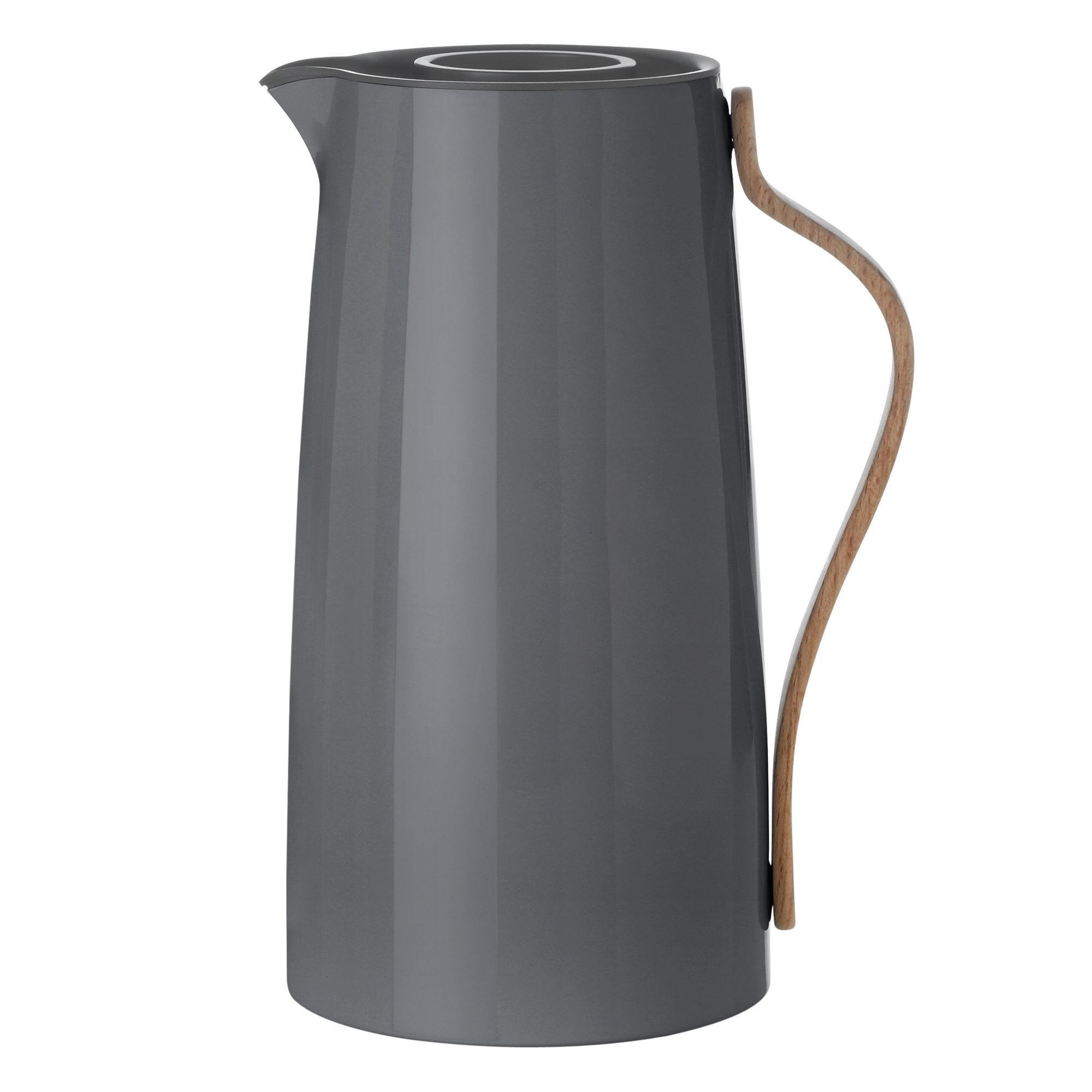 Stelton Emma termoskanna – Kaffe 12 L – Grå