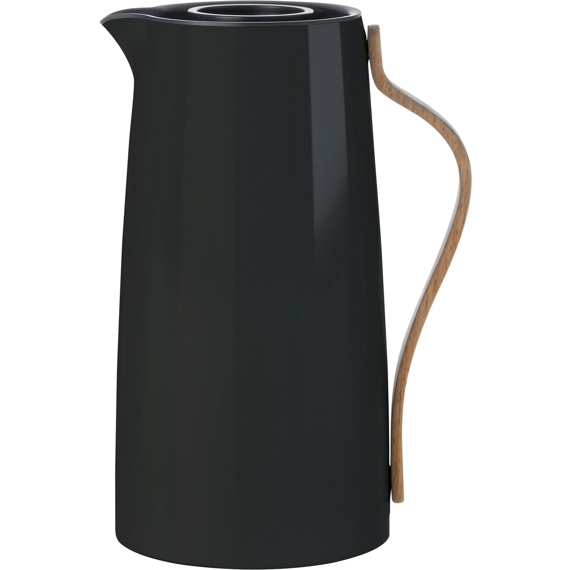 Stelton Emma termoskanna – kaffe 12 liter – svart